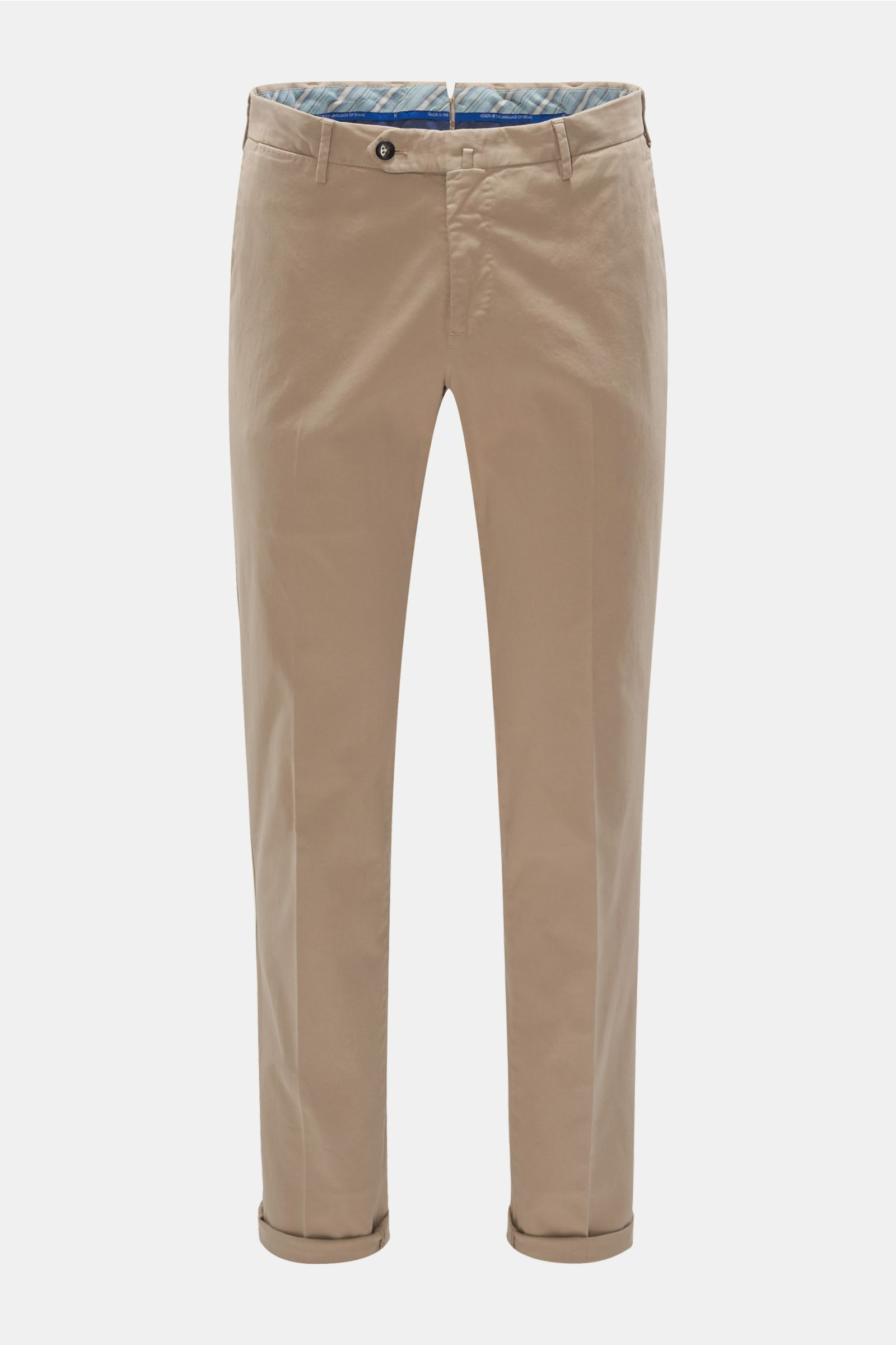 Chino 'Slim Fit' beige