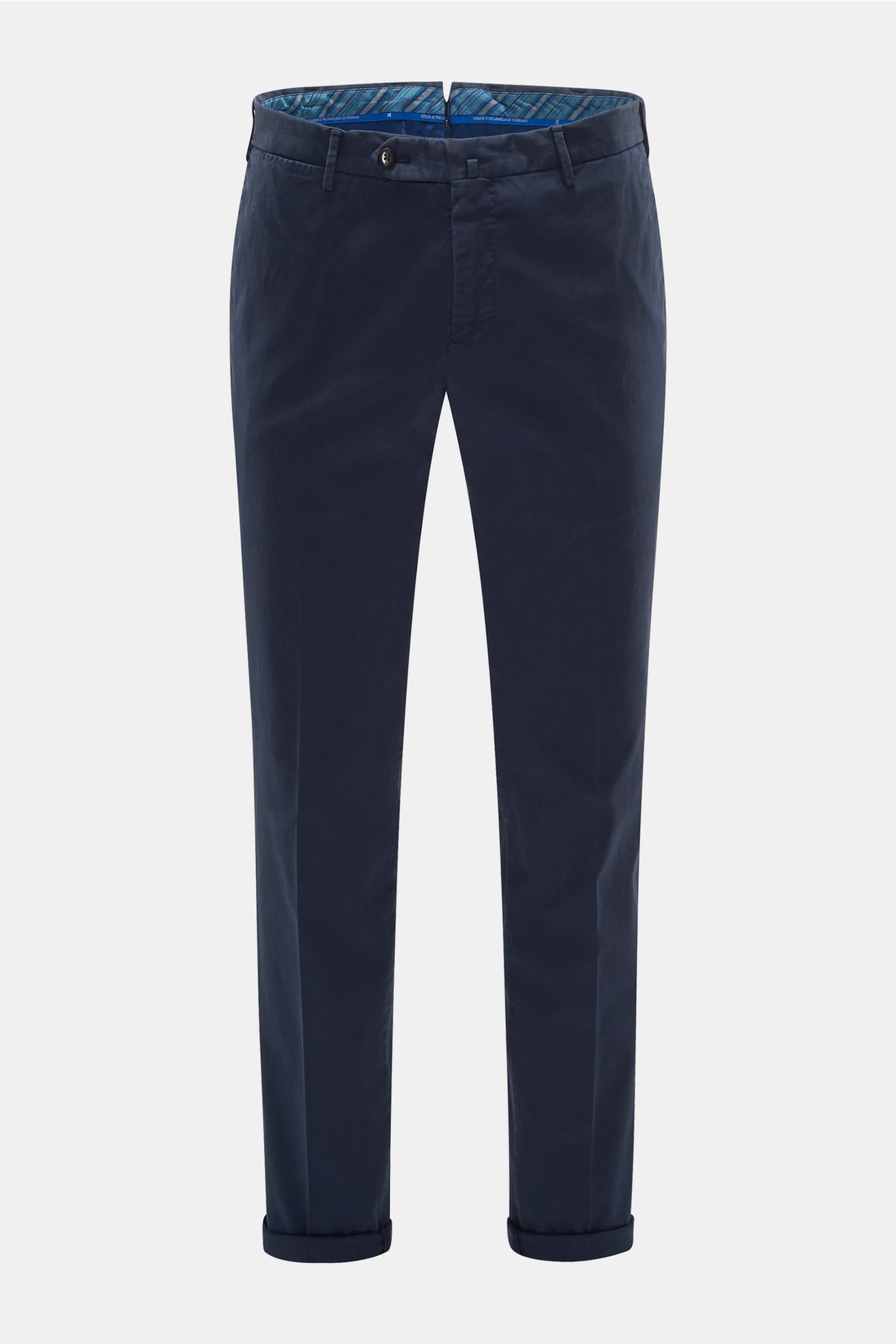 Chino 'Slim Fit' navy