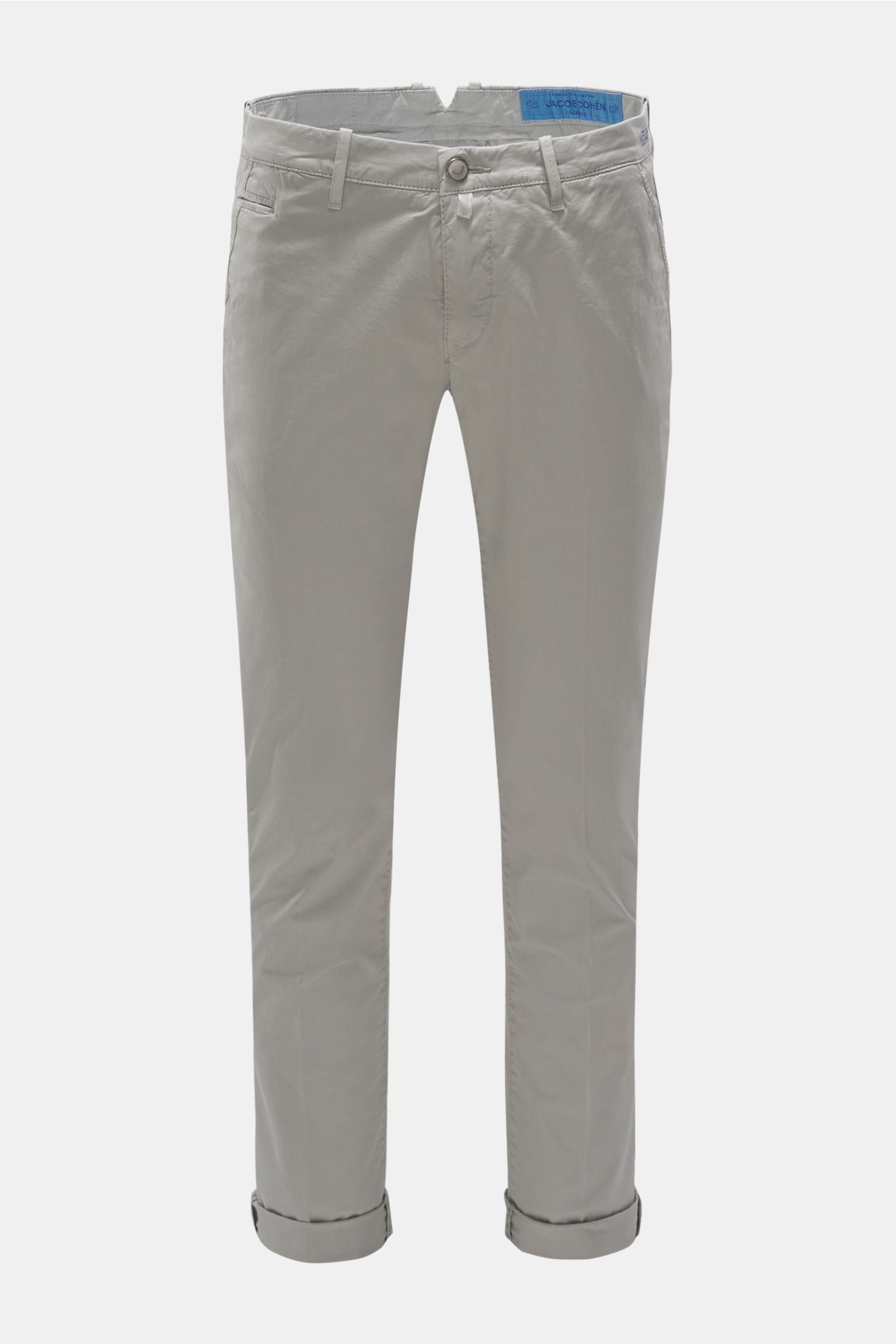 Chino 'B Comfort Slim Fit' hellgrau