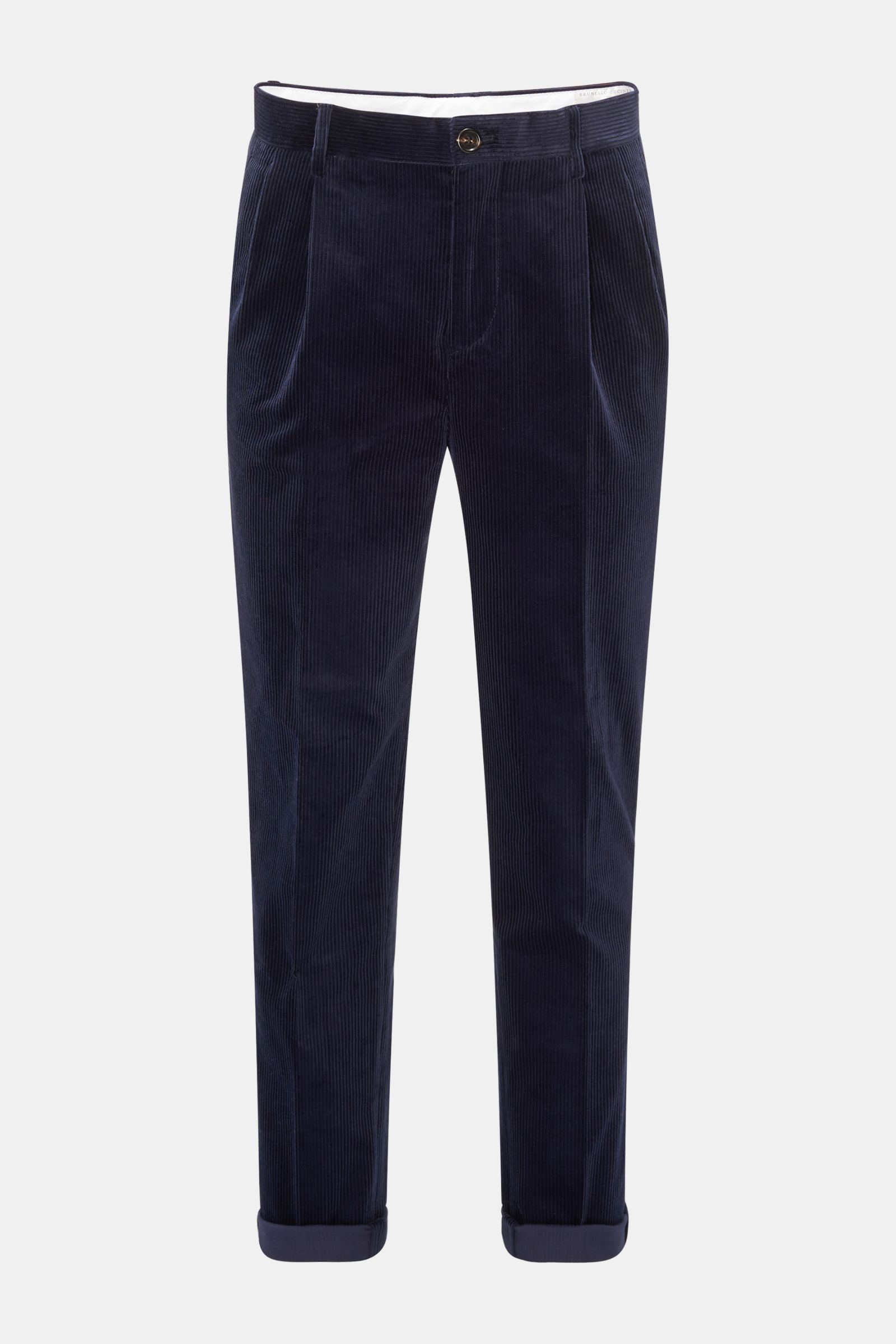 Cordhose 'Easy Fit' navy