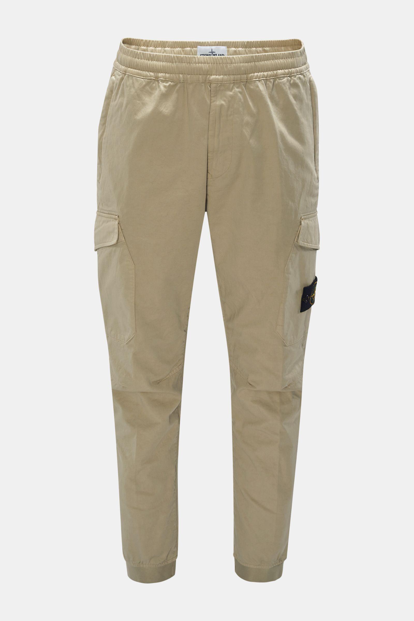 Cargo-Joggpants beige