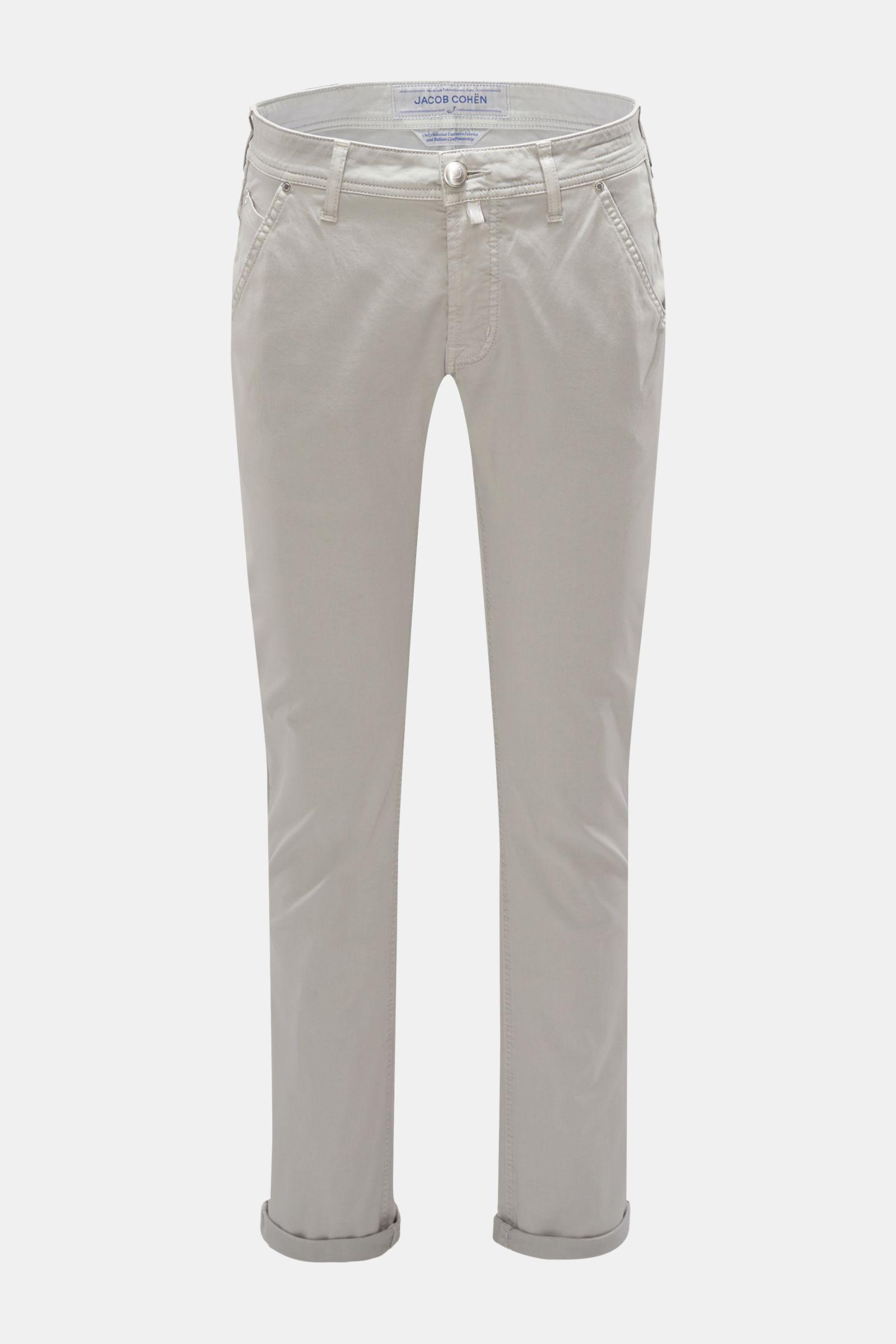 Chino 'J613 Comfort Slim Fit' hellgrau