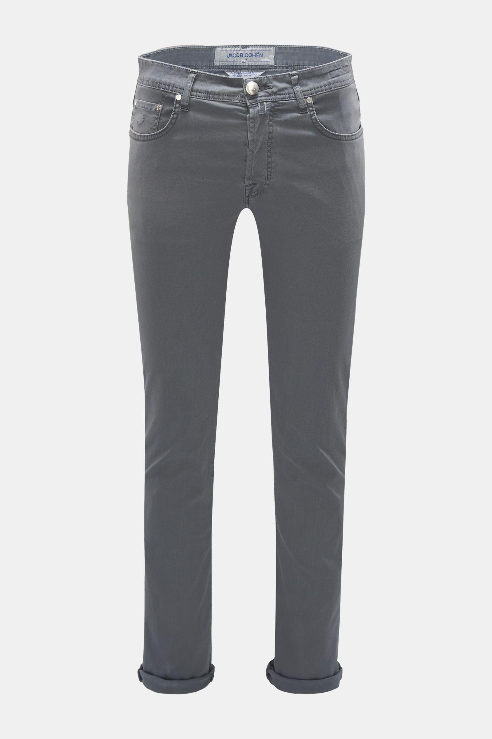 Hose 'J688 Comfort Slim Fit' dunkelgrau