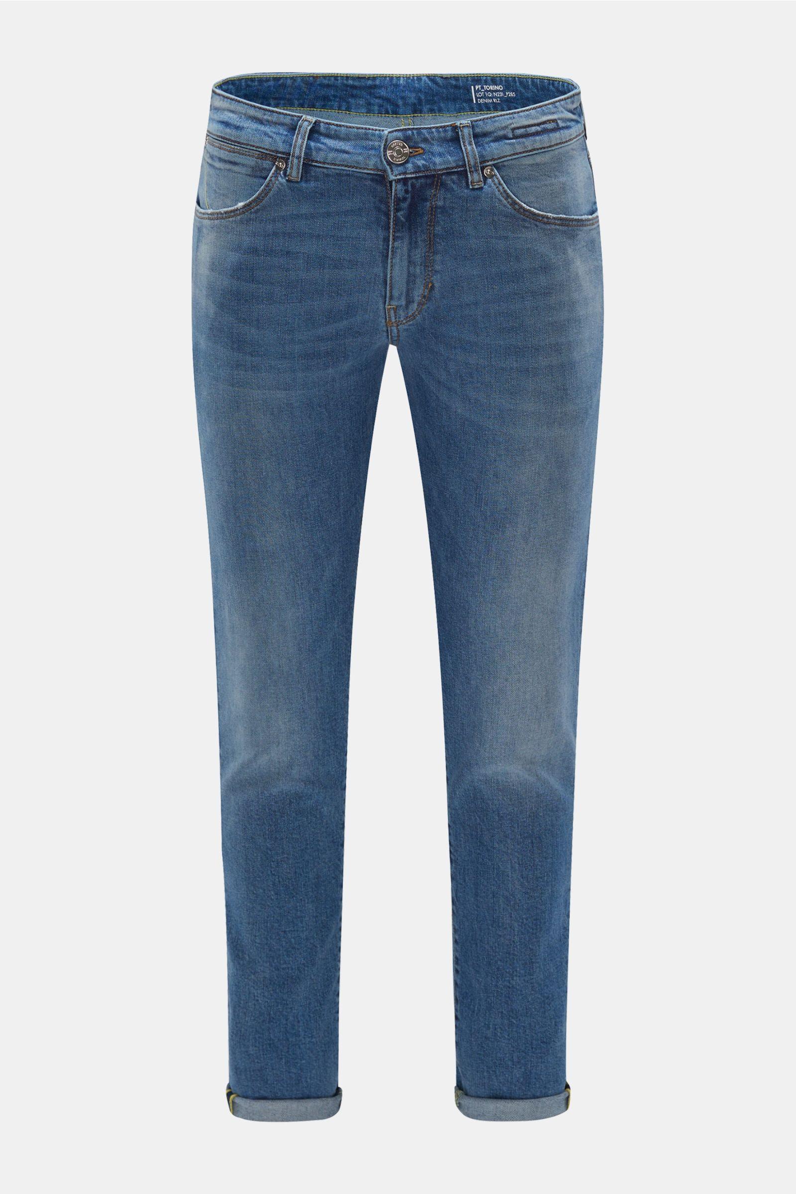 Jeans 'Swing' rauchblau