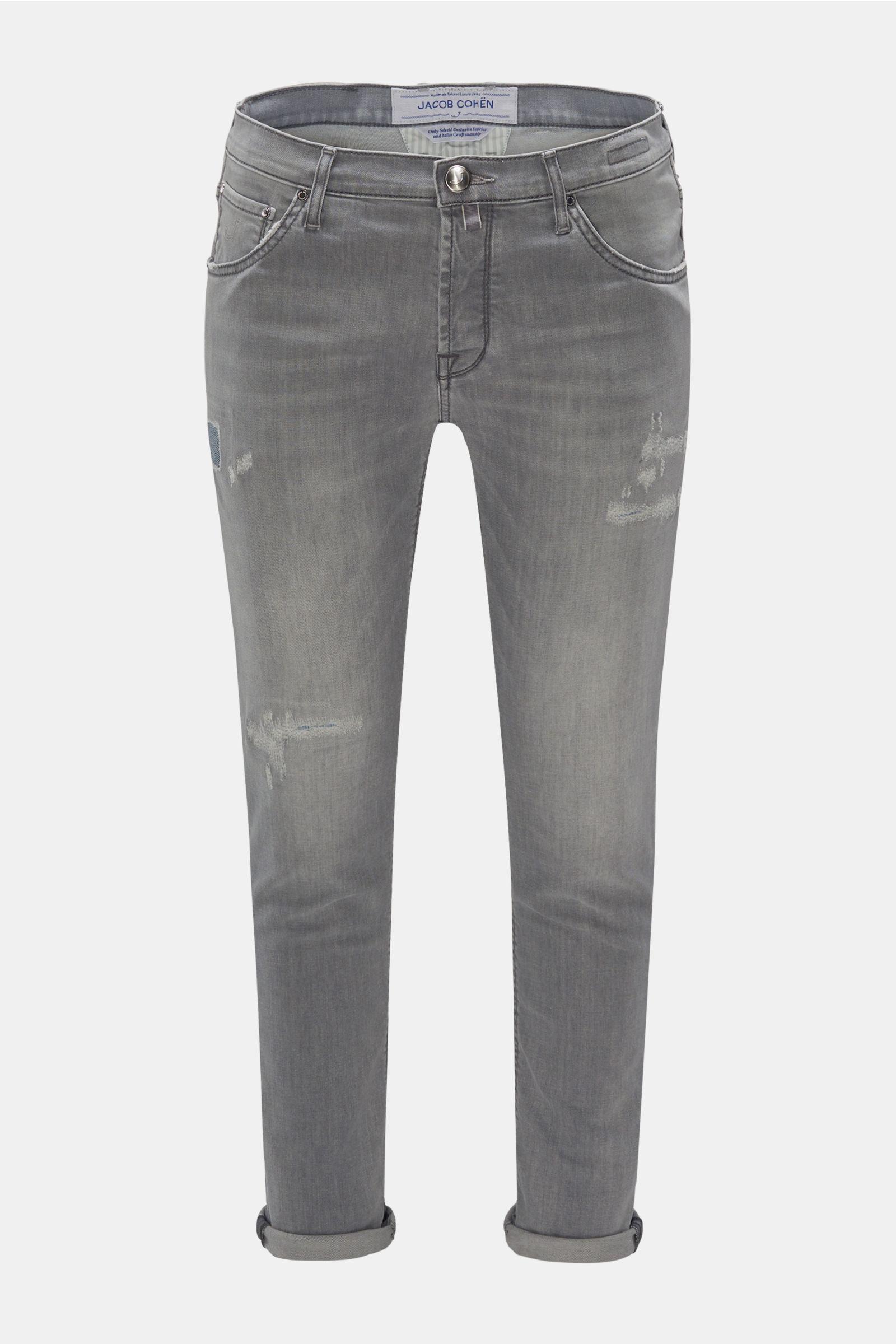 Jeans 'J688 Comfort Slim Fit' hellgrau