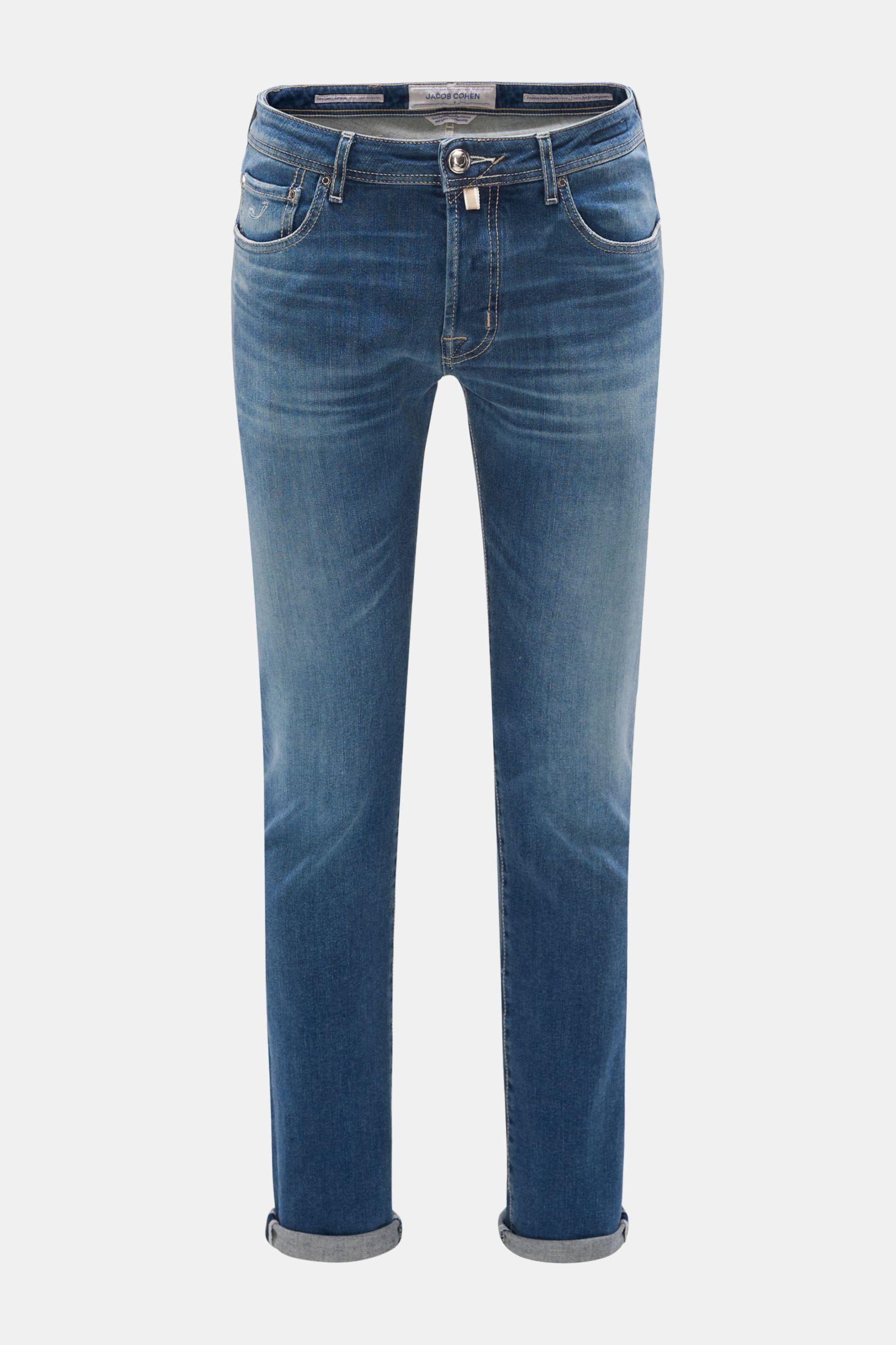 Jeans 'J688 Comfort Slim Fit' rauchblau