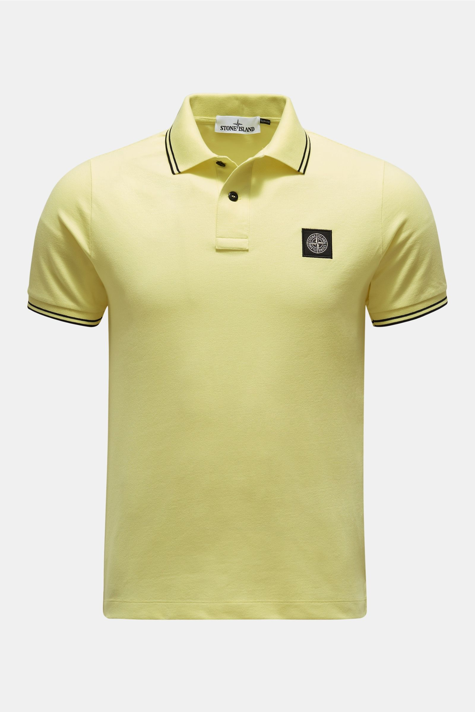 Polo shirt pastel yellow