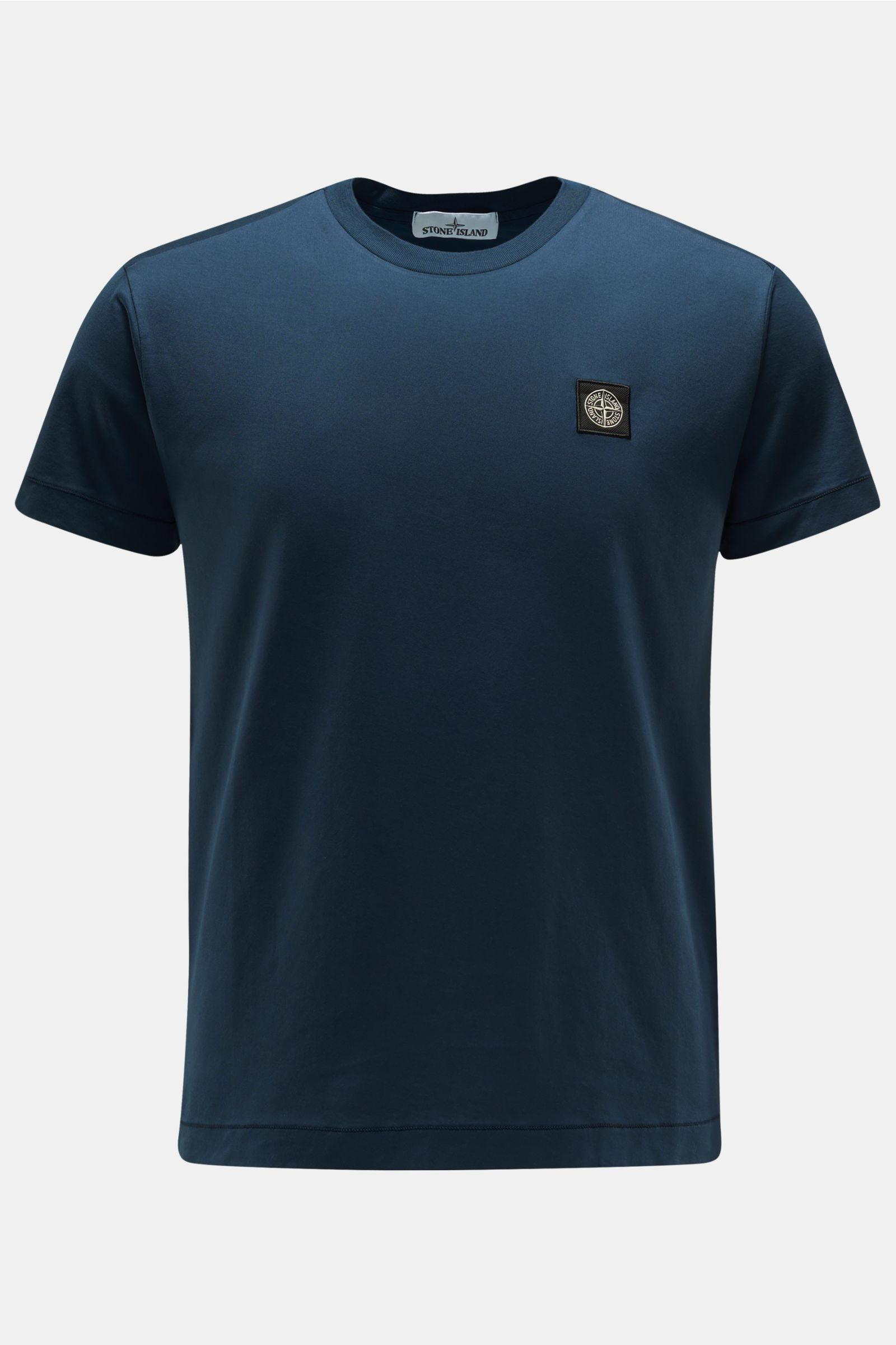 R-Neck T-Shirt dunkelblau