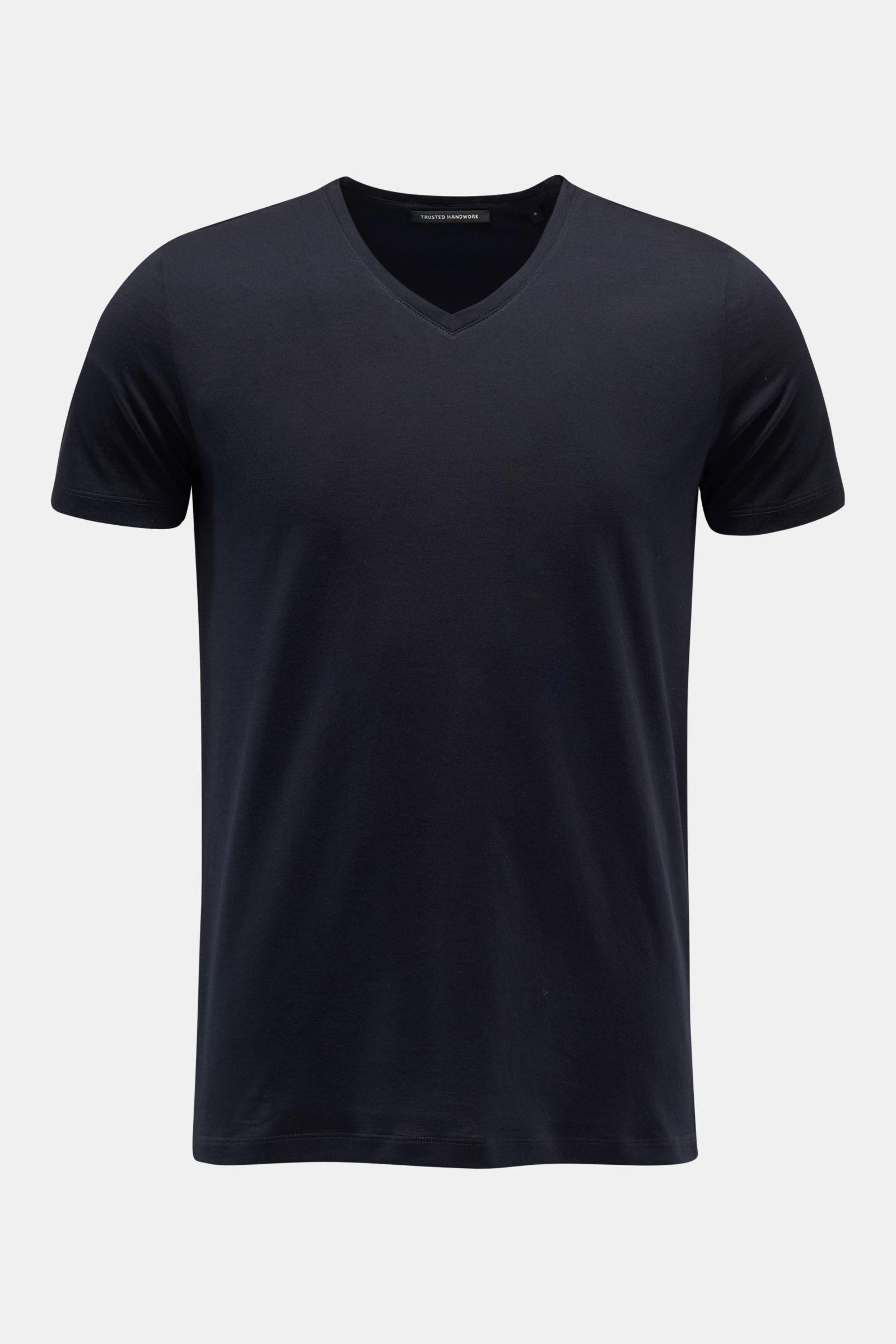 V-Neck T-Shirt navy