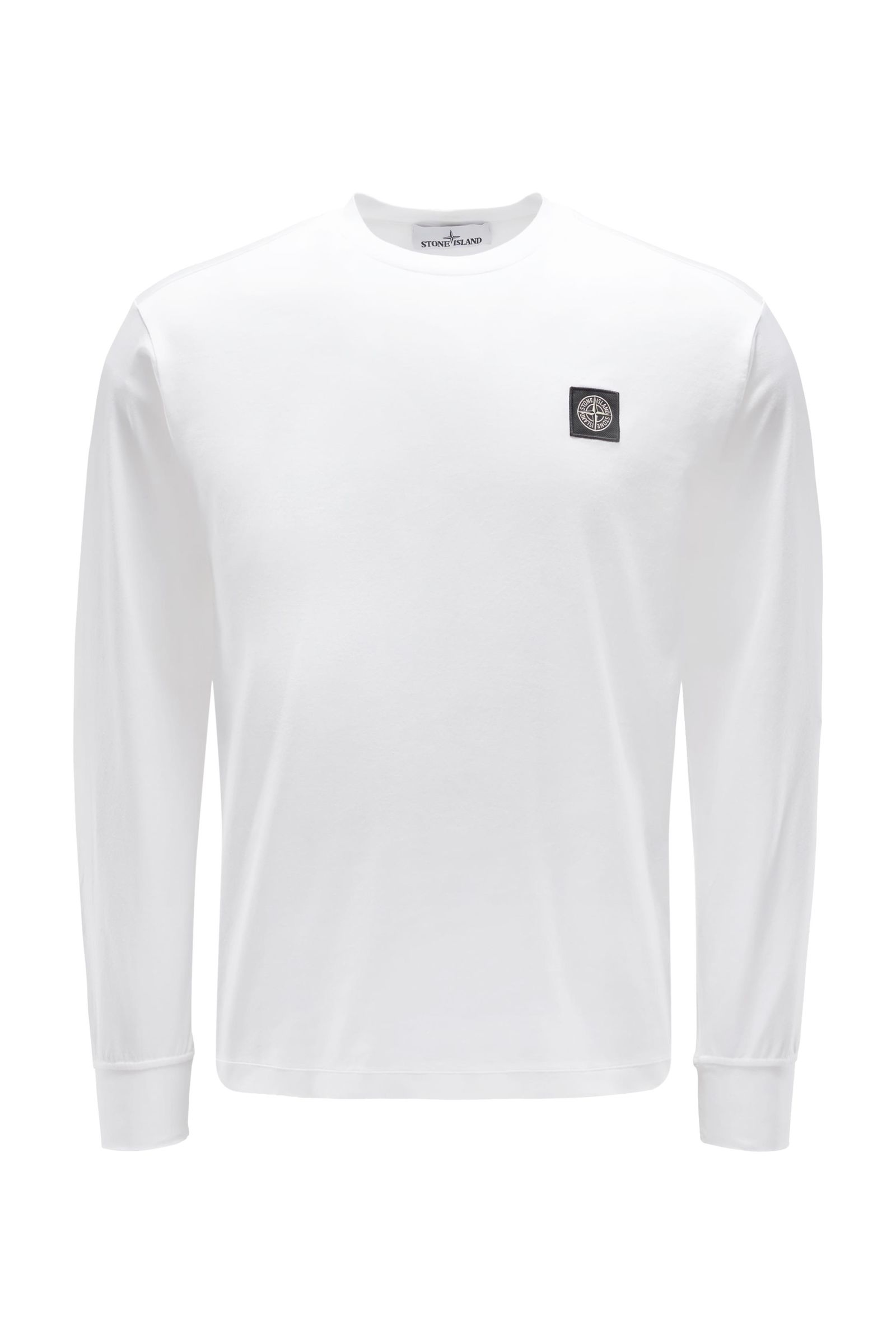 Crew neck long sleeve off-white