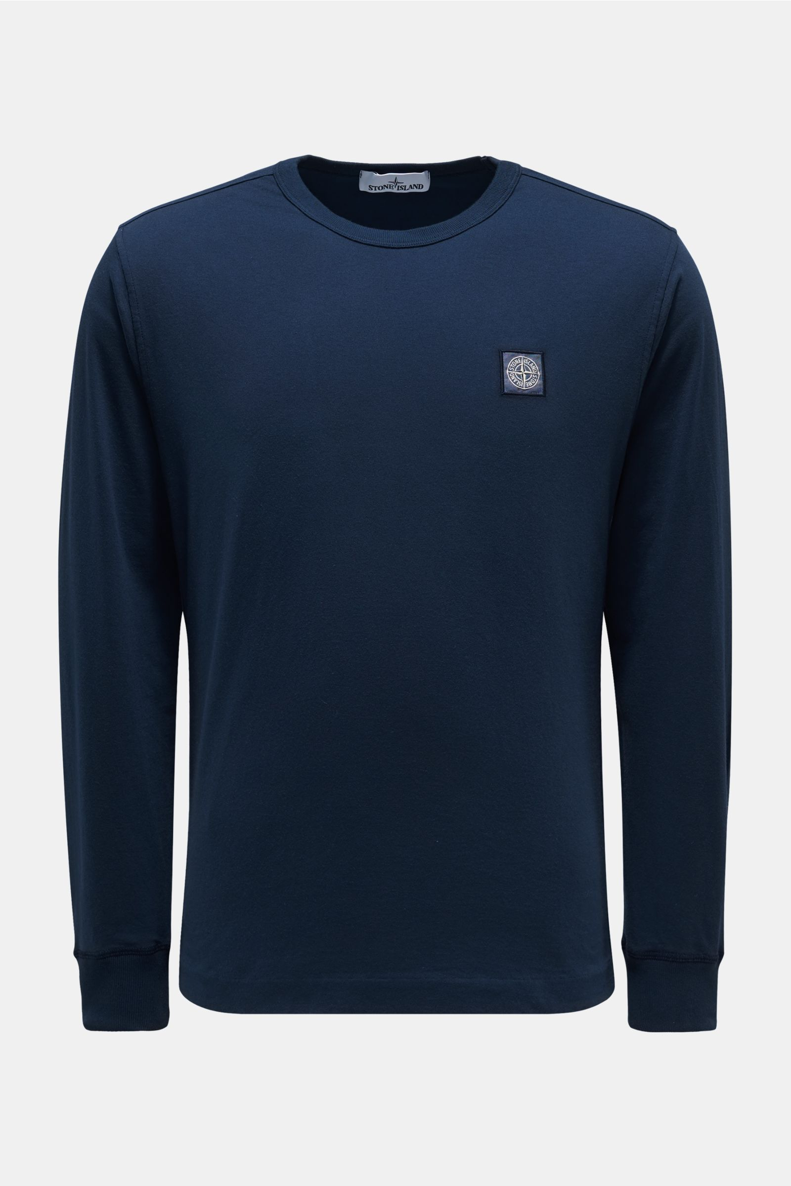 Crew neck long sleeve navy