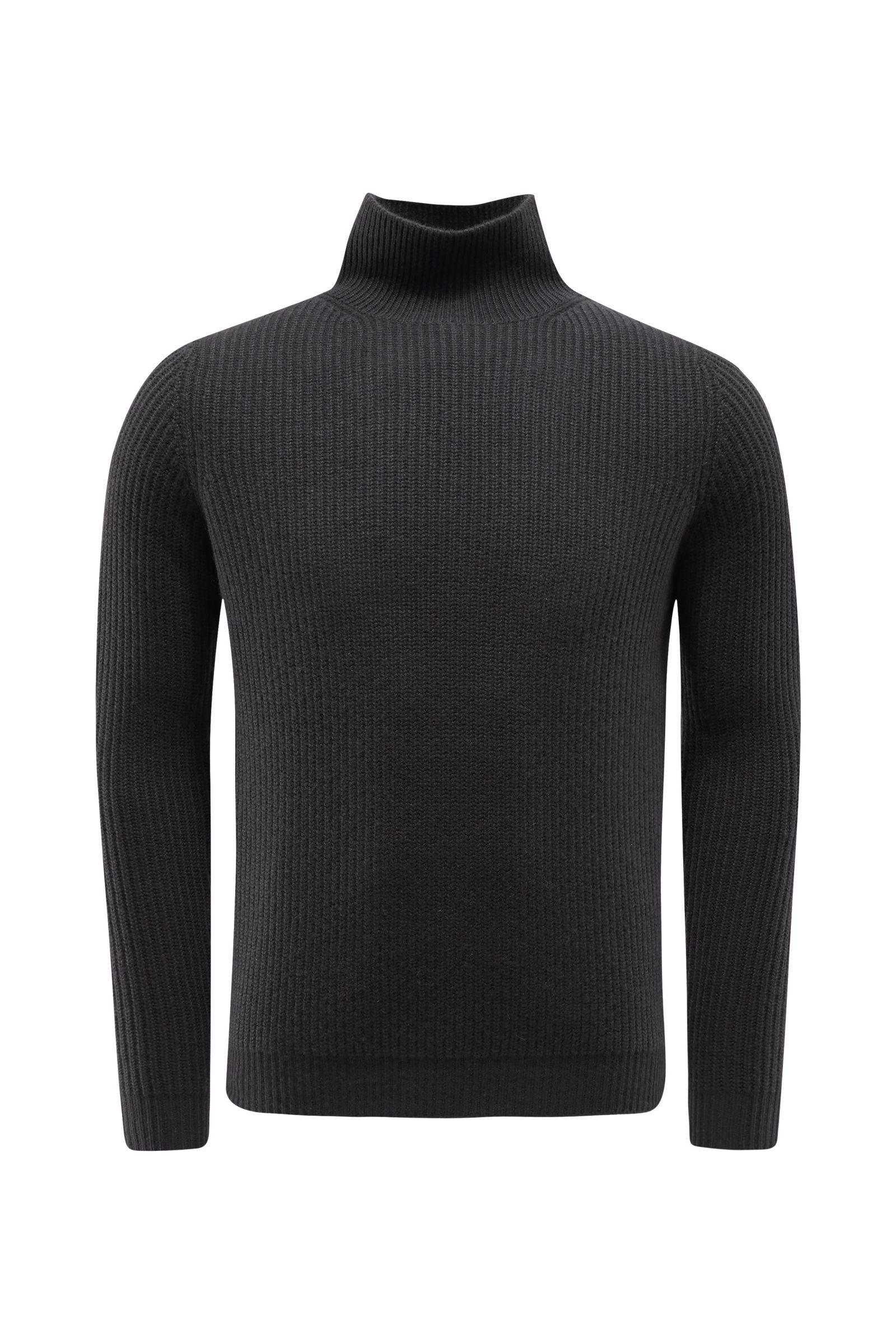 Cashmere jumper dark grey
