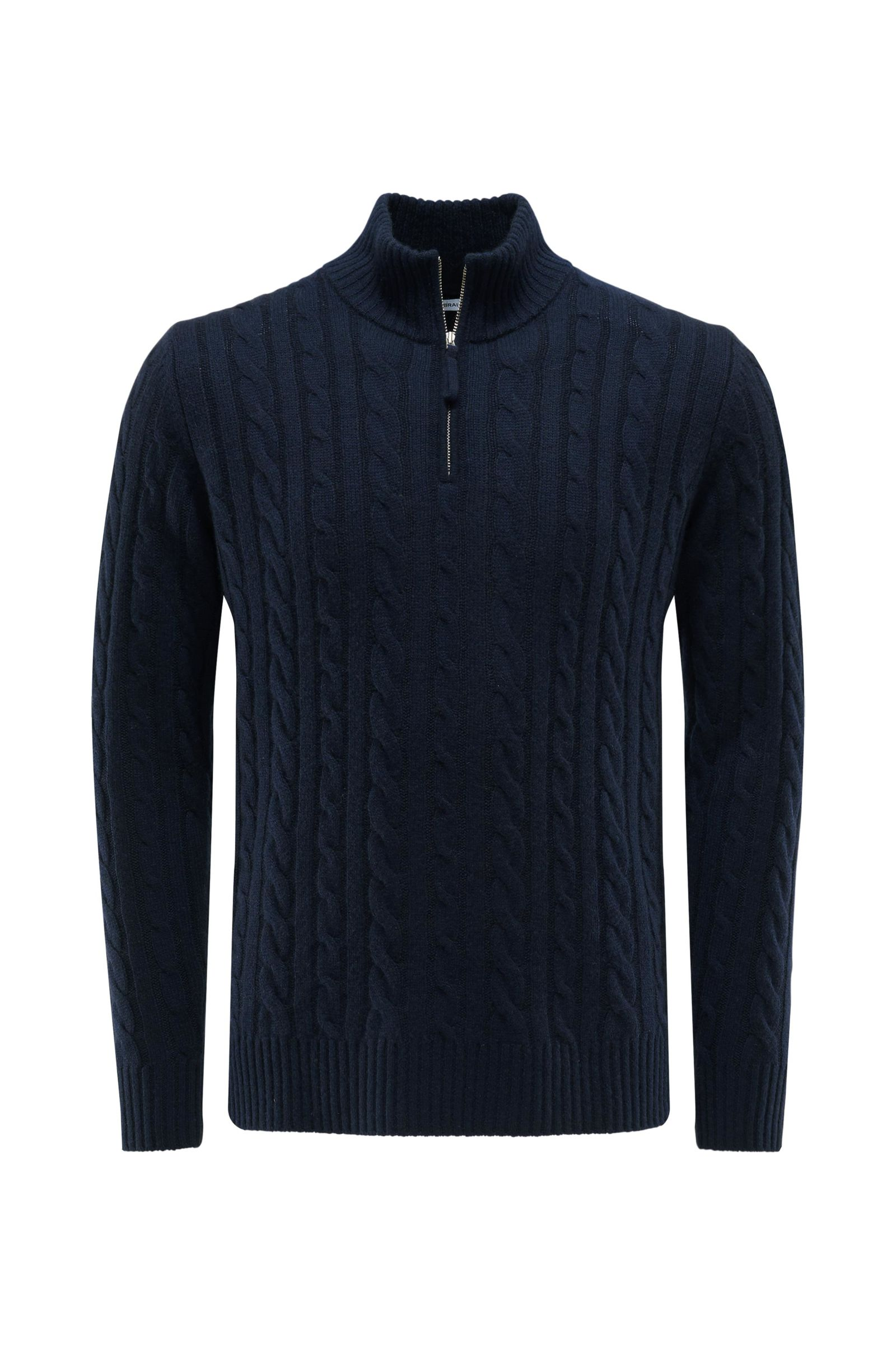 Baby Cashmere Troyer navy