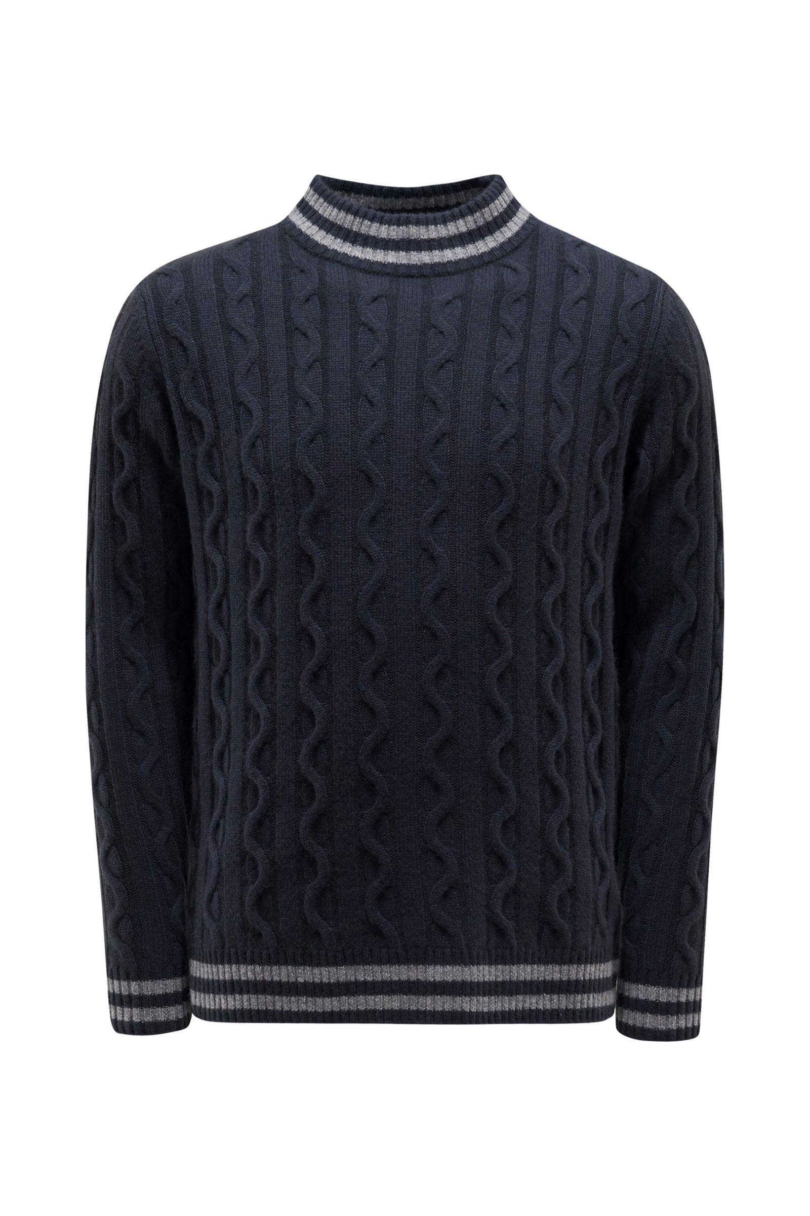 Baby-Cashmere Pullover navy