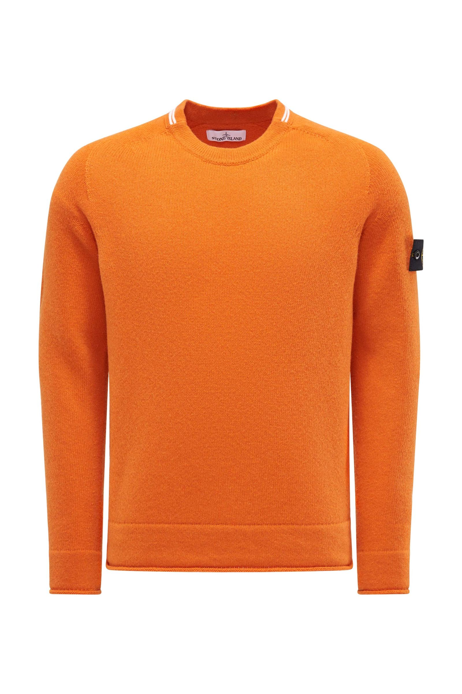 R-Neck Pullover orange