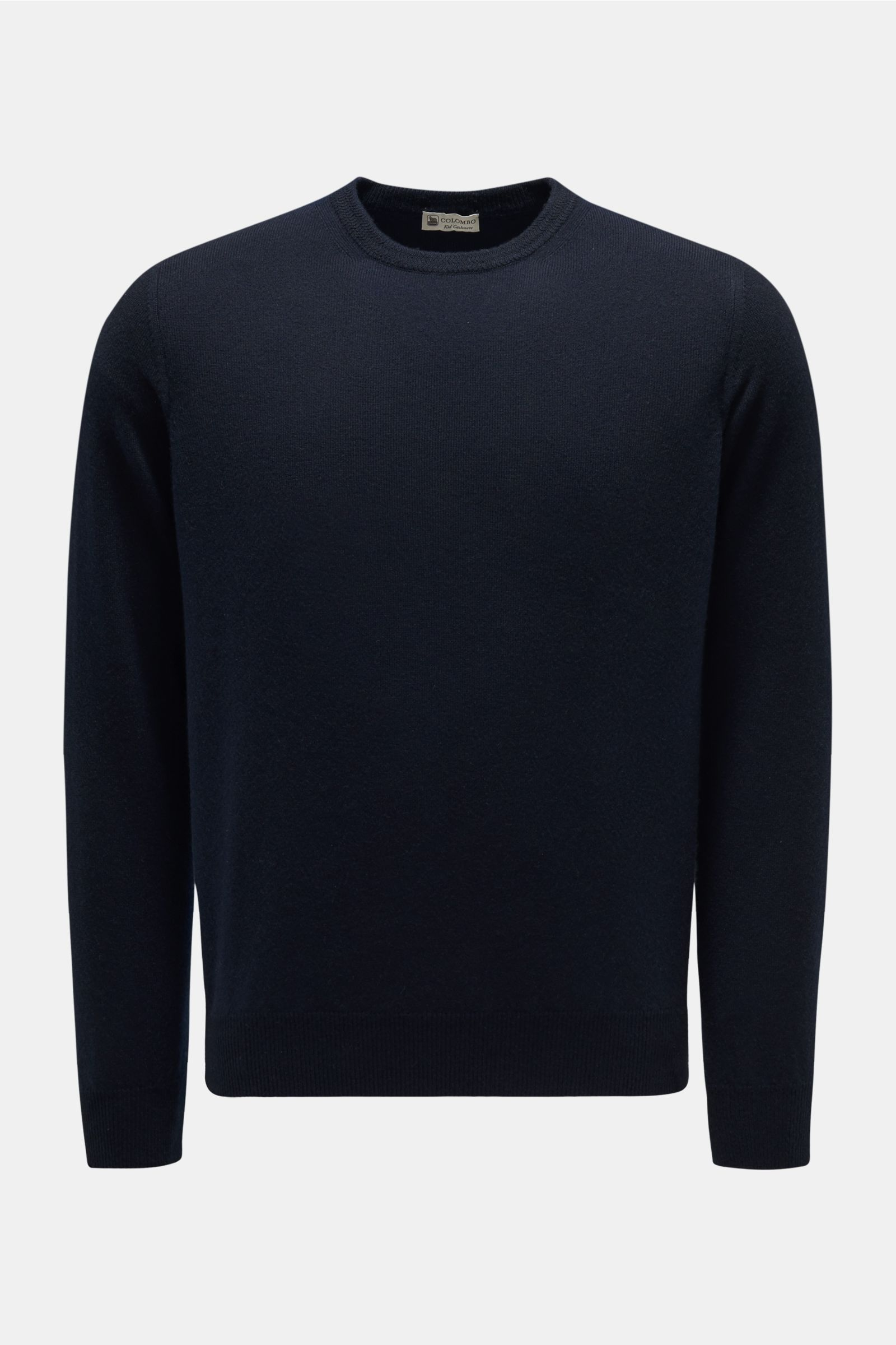 Baby-Cashmere R-Neck Pullover navy