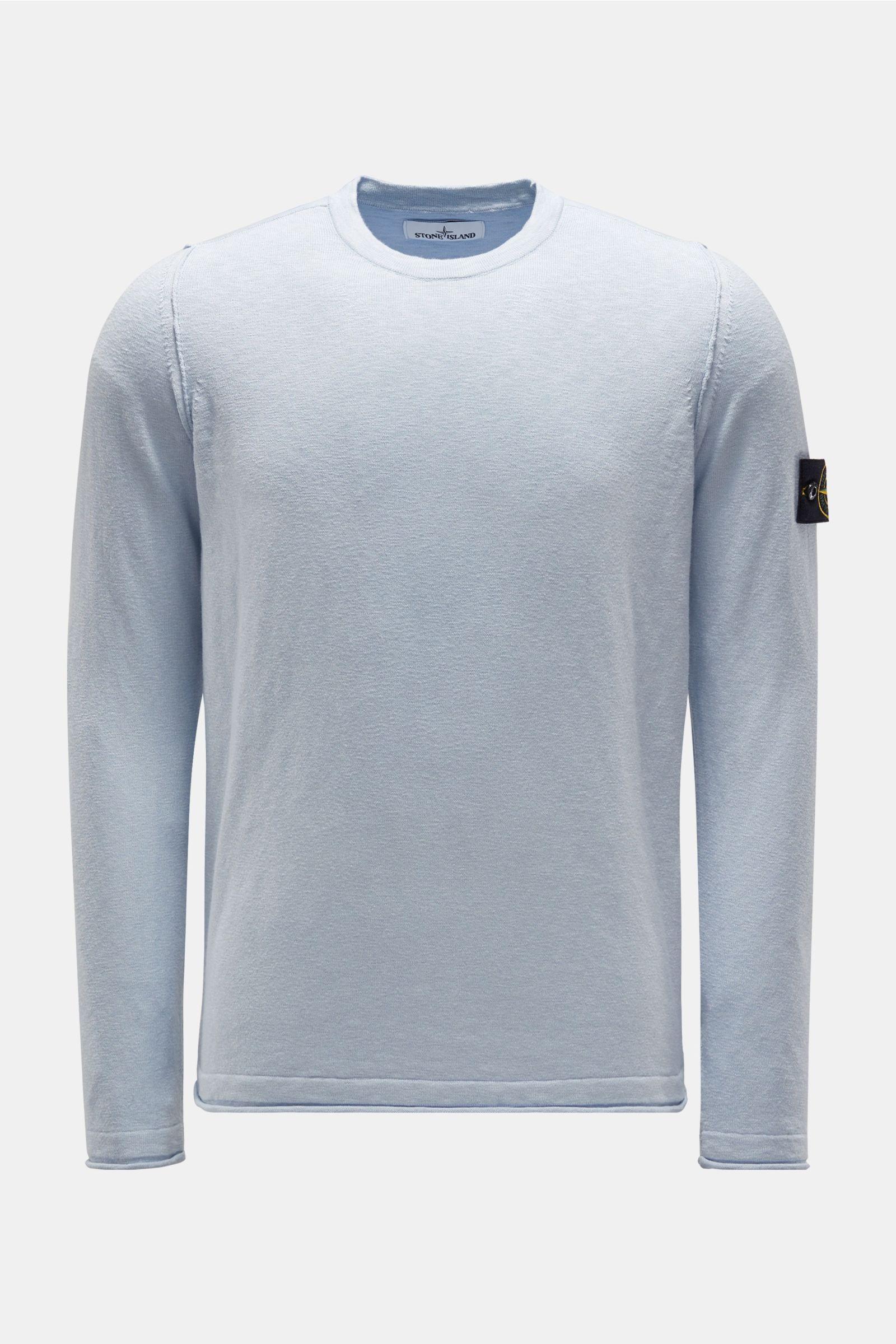 R-Neck Pullover pastellblau