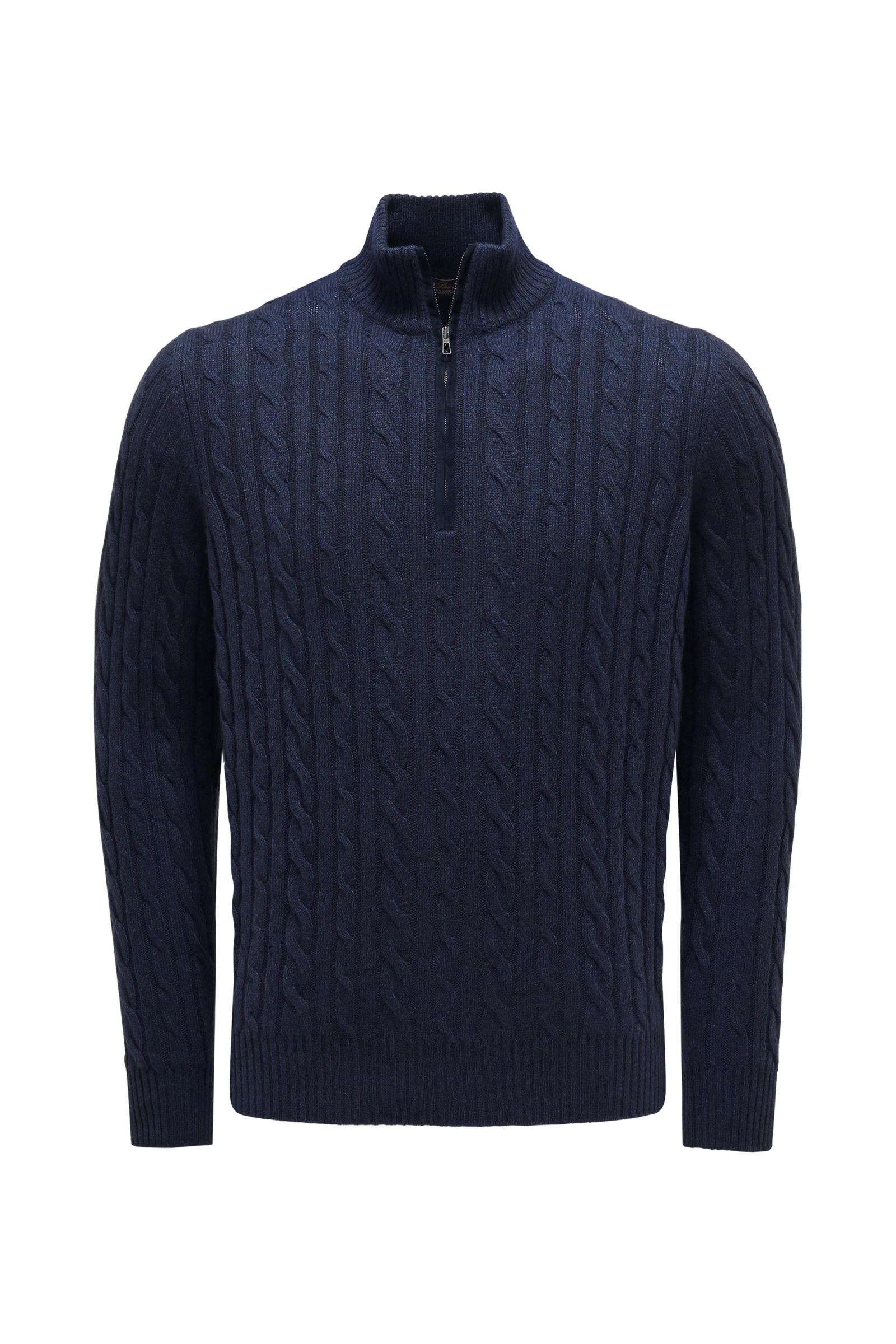 Baby-Cashmere Troyer navy