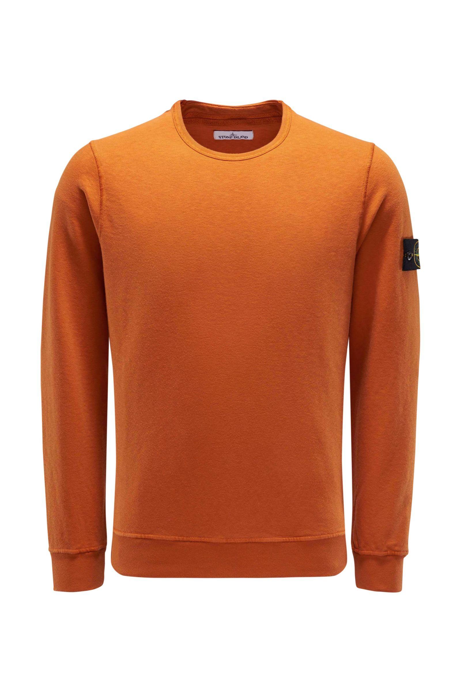R-Neck Sweatshirt orange