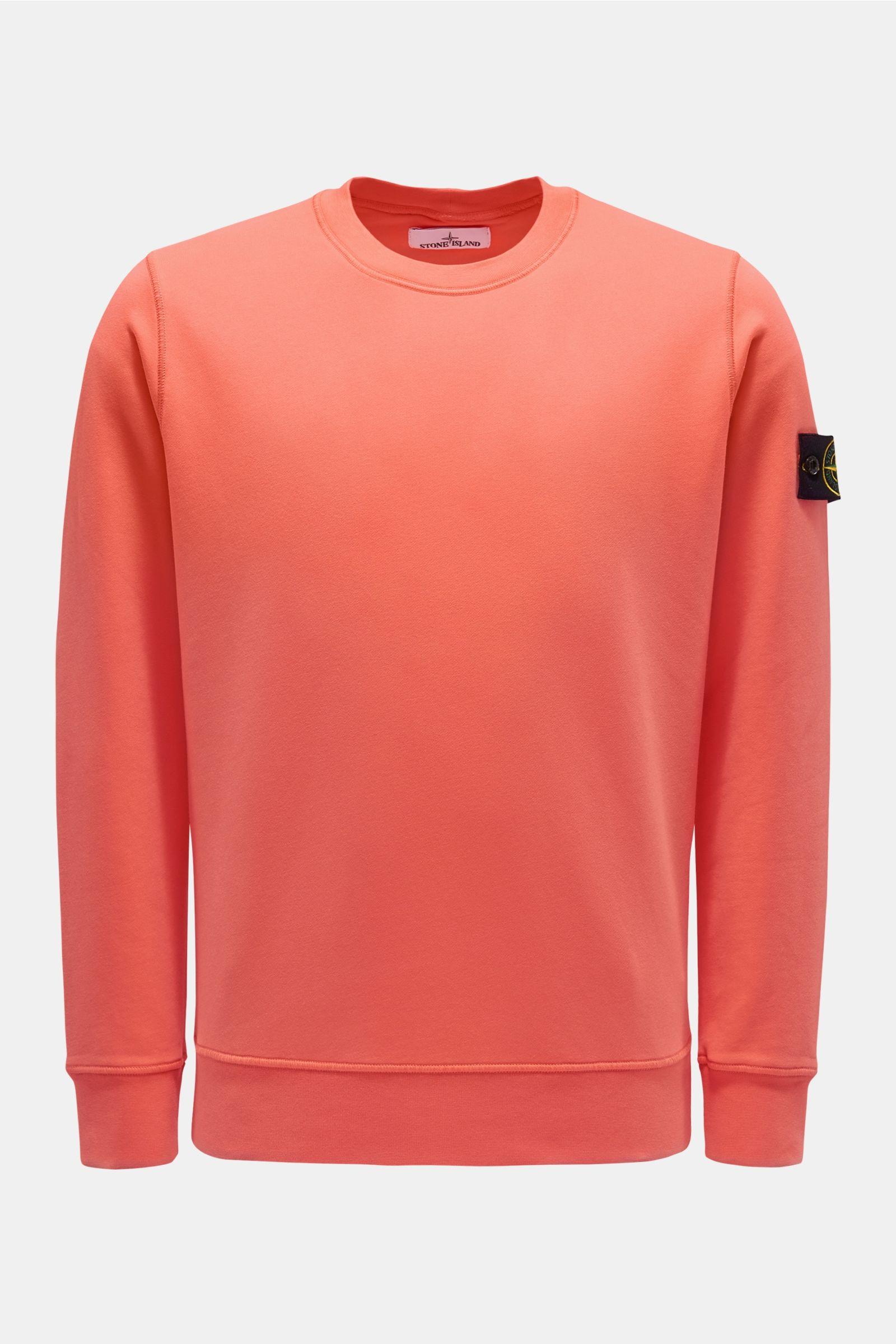R-Neck Sweatshirt koralle