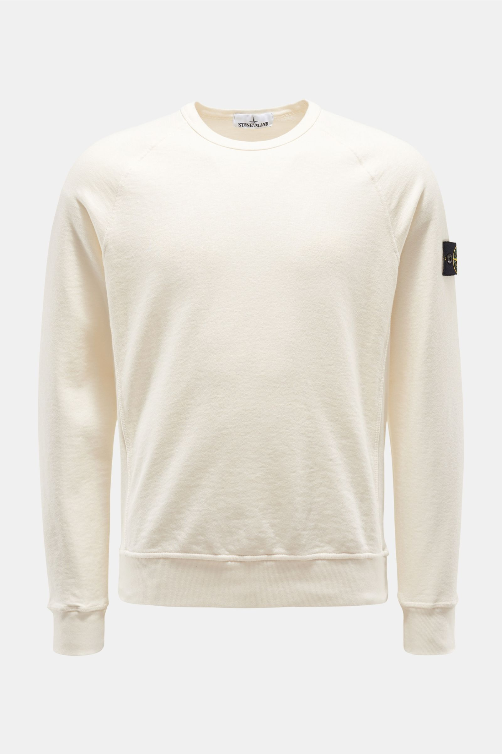 R-Neck Sweatshirt creme