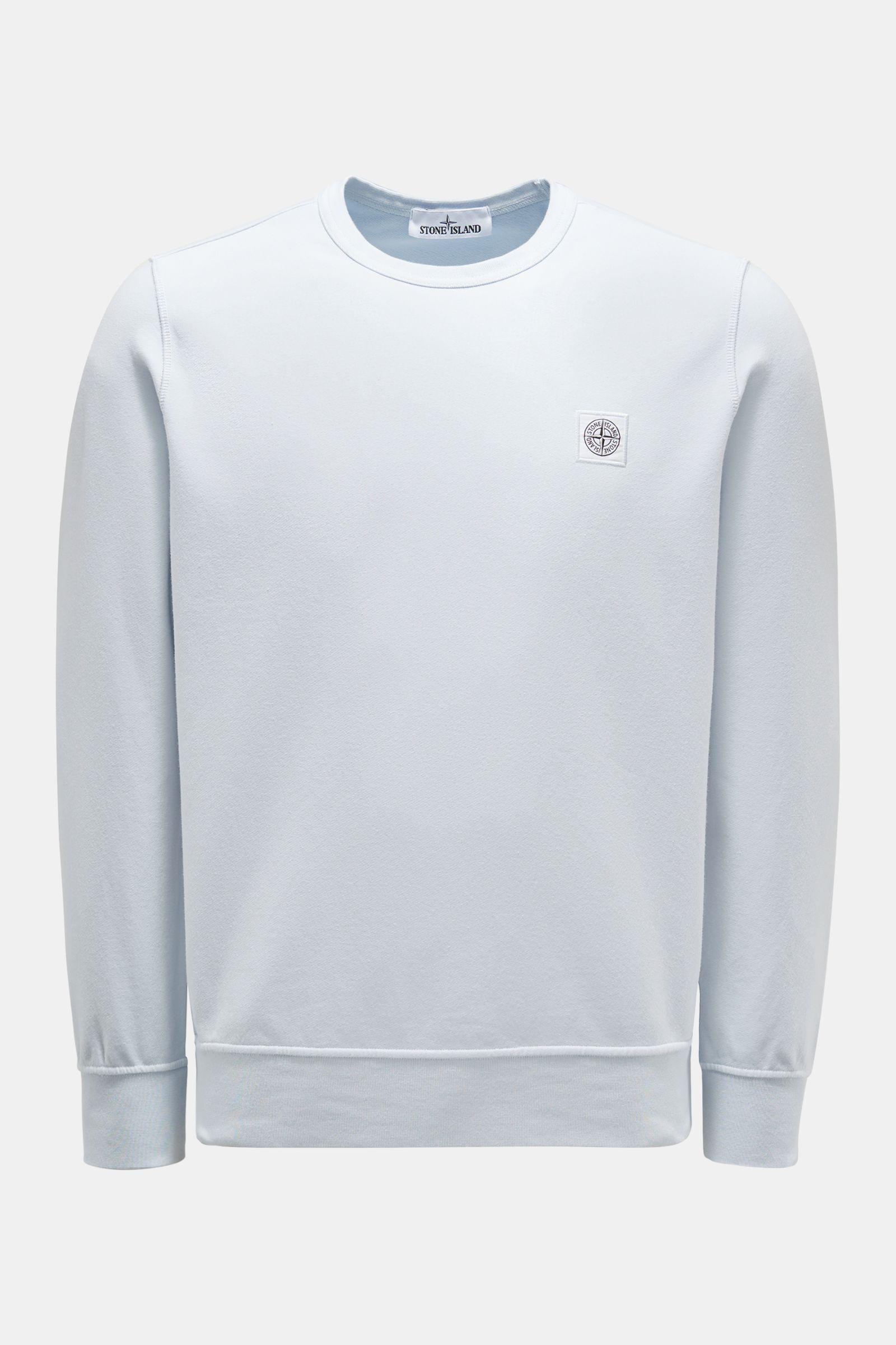 Rundhals-Sweatshirt pastellblau