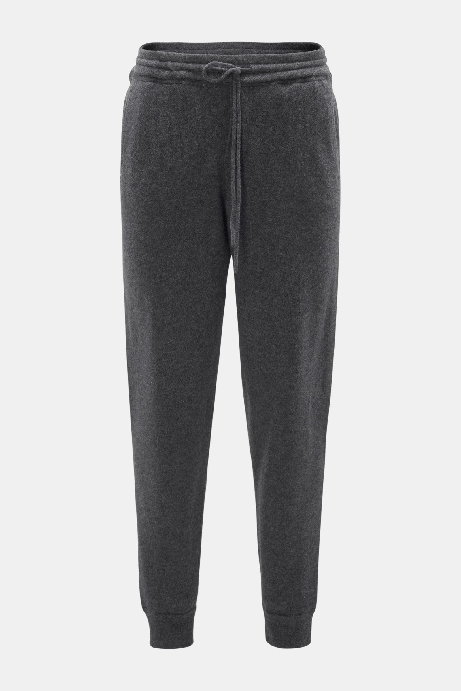 Cashmere Joggpants anthrazit