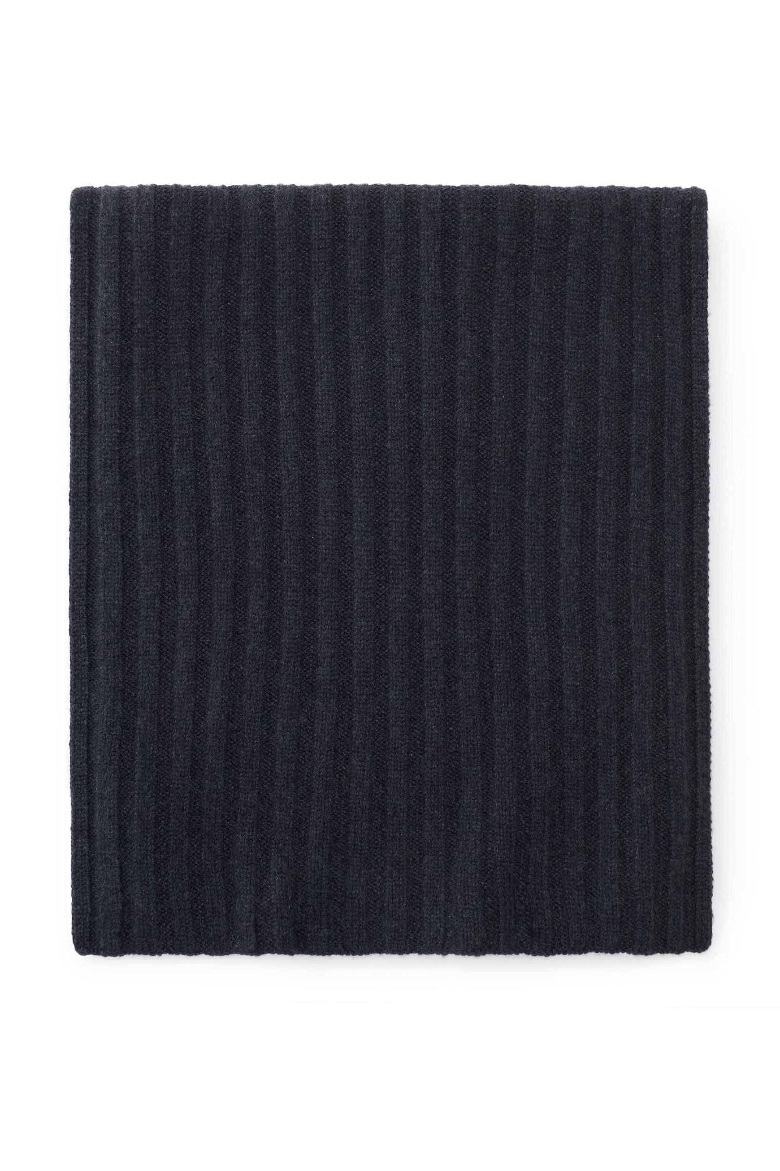 Cashmere scarf anthracite