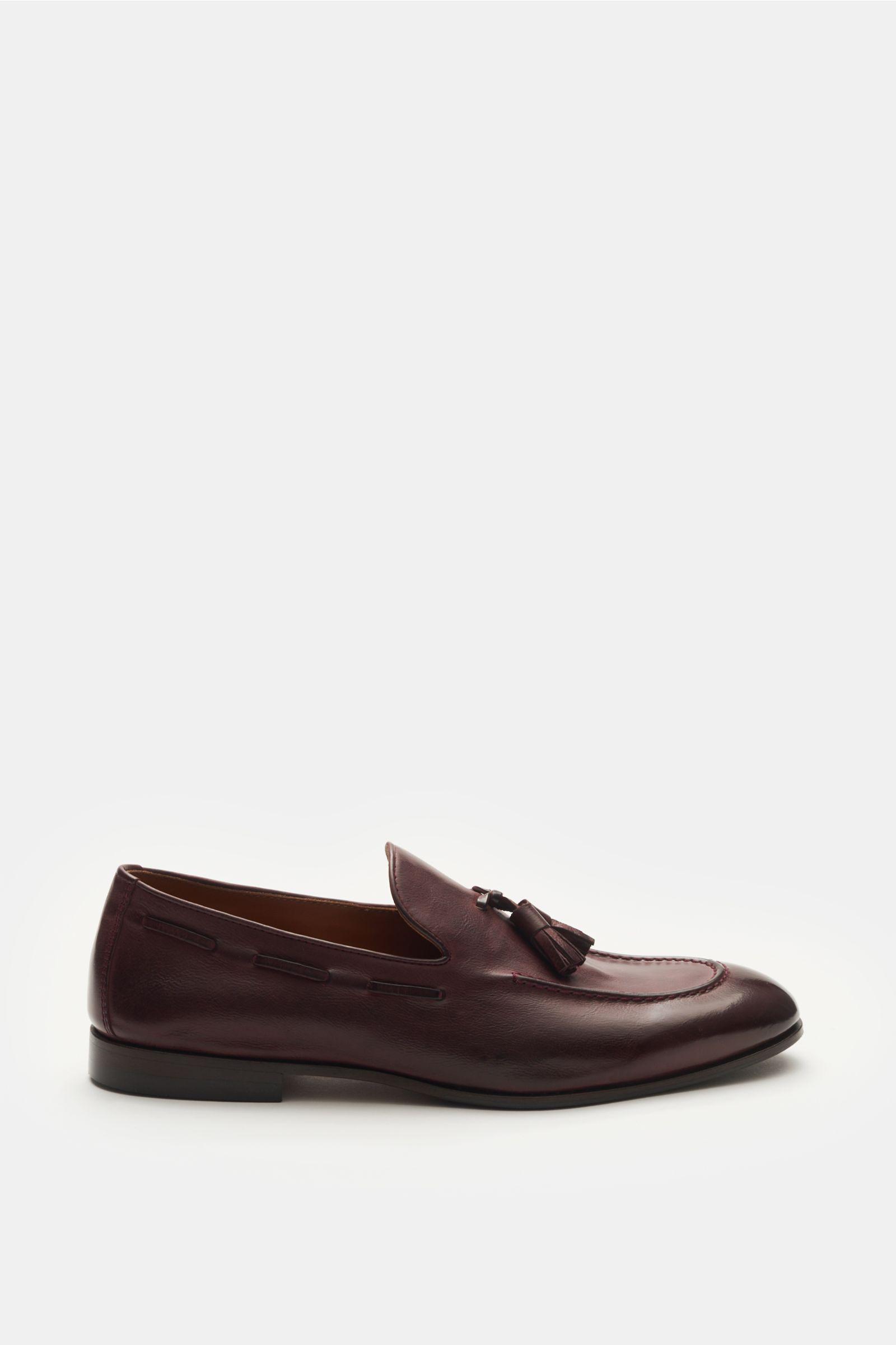 Tassel Loafer bordeaux