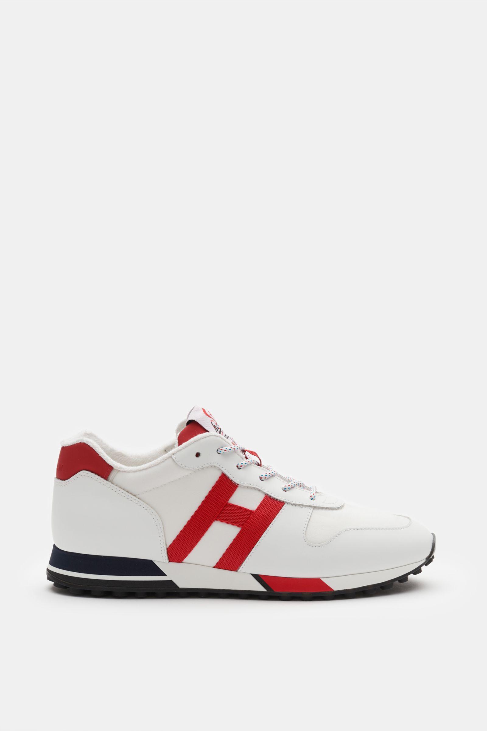 Sneaker 'H383' weiß/rot