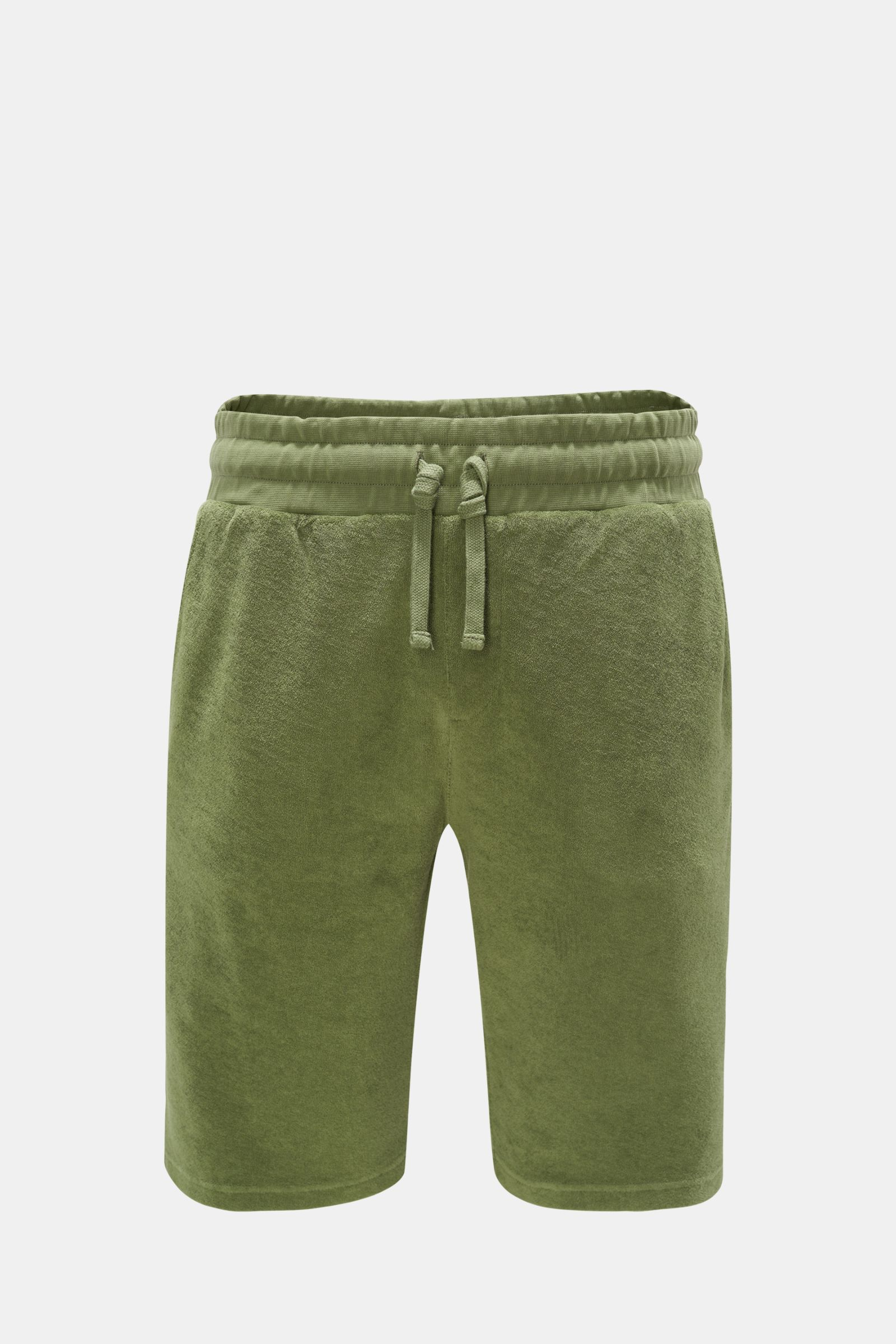 Terry bermuda shorts olive