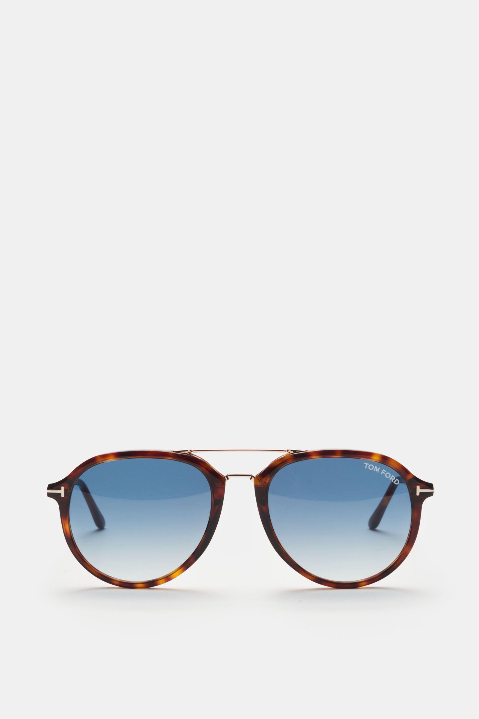 Sonnenbrille 'Rupert' dunkelbraun/dunkelblau