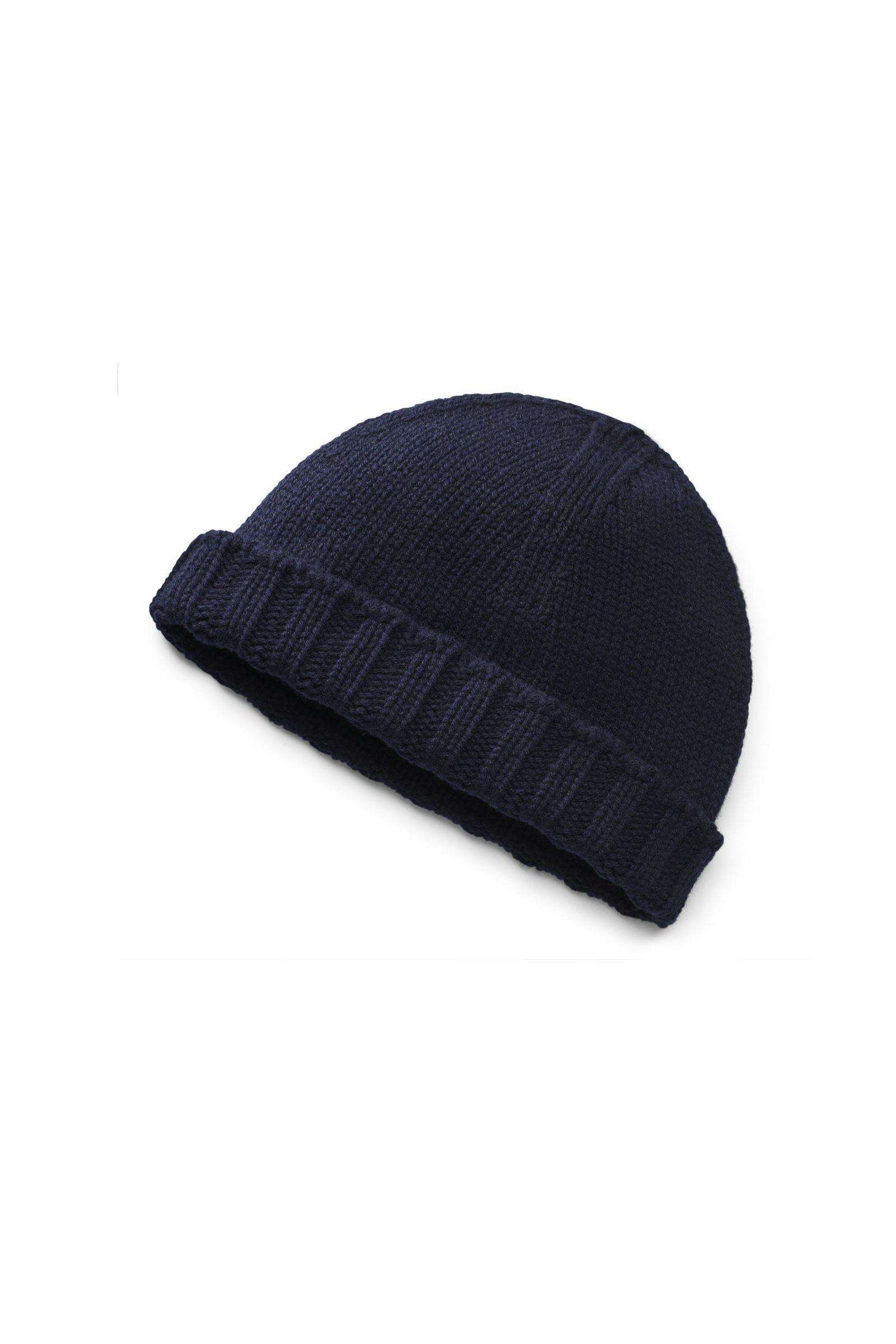 Cashmere Mütze navy