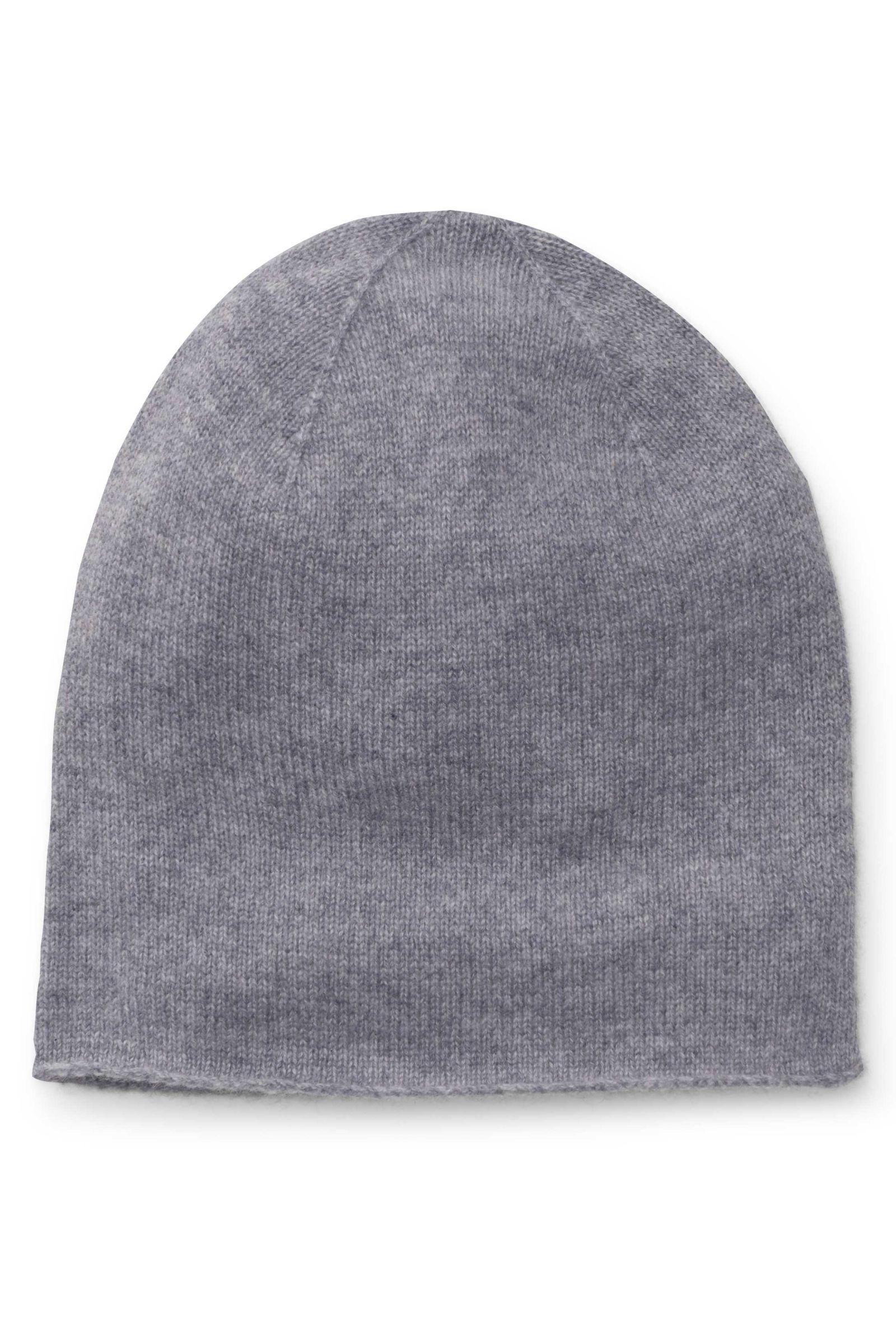 Cashmere beanie grey