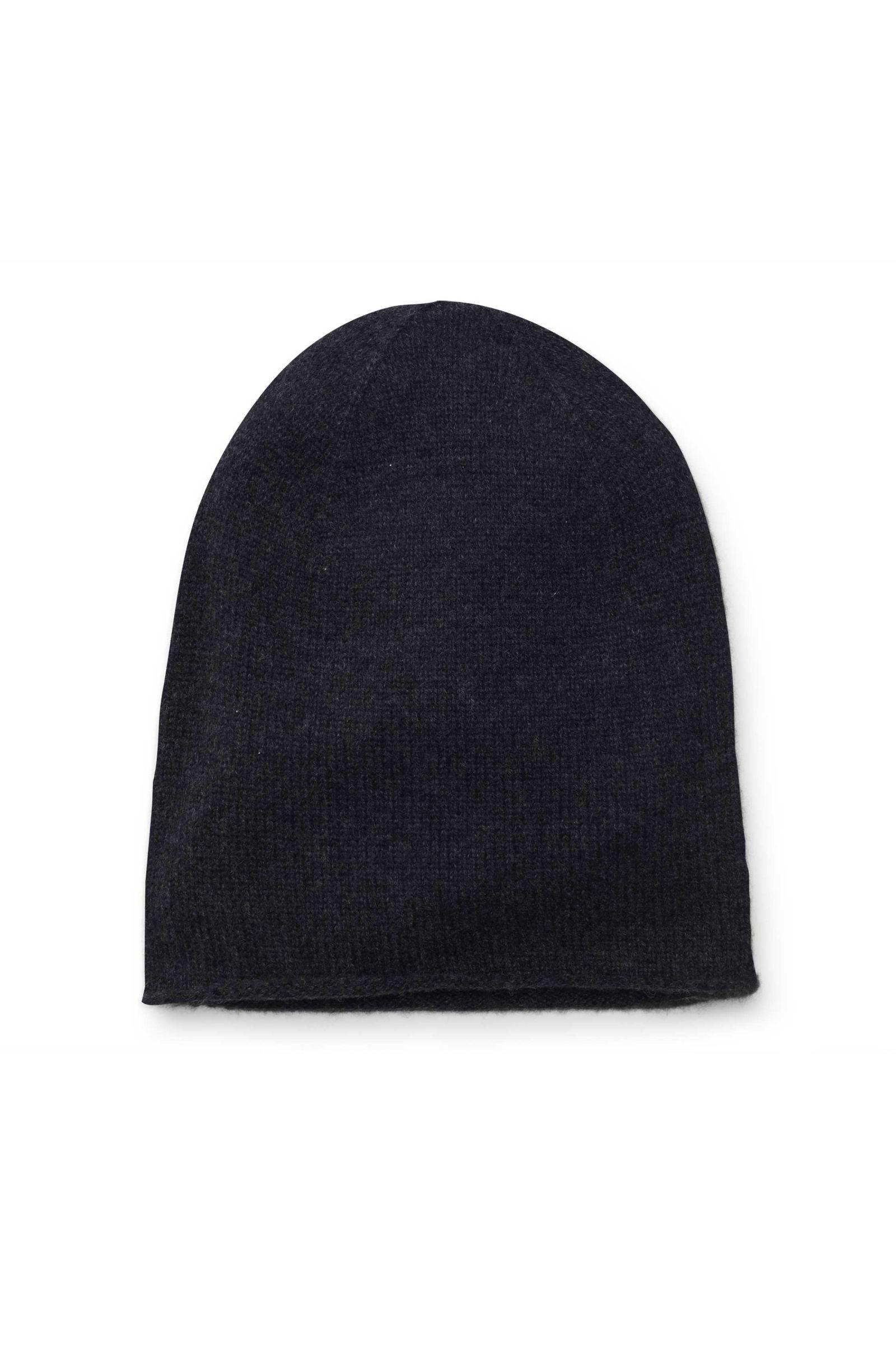 Kinder Cashmere Mütze anthrazit