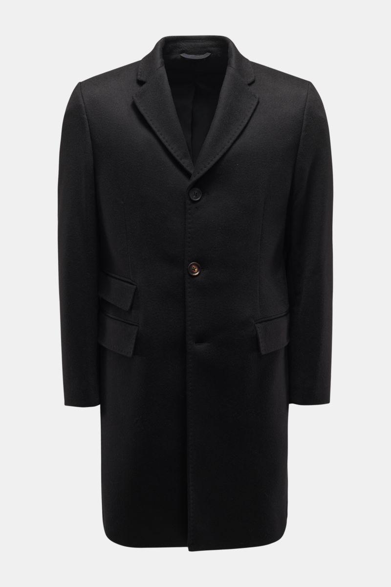 Cashmere Mantel schwarz