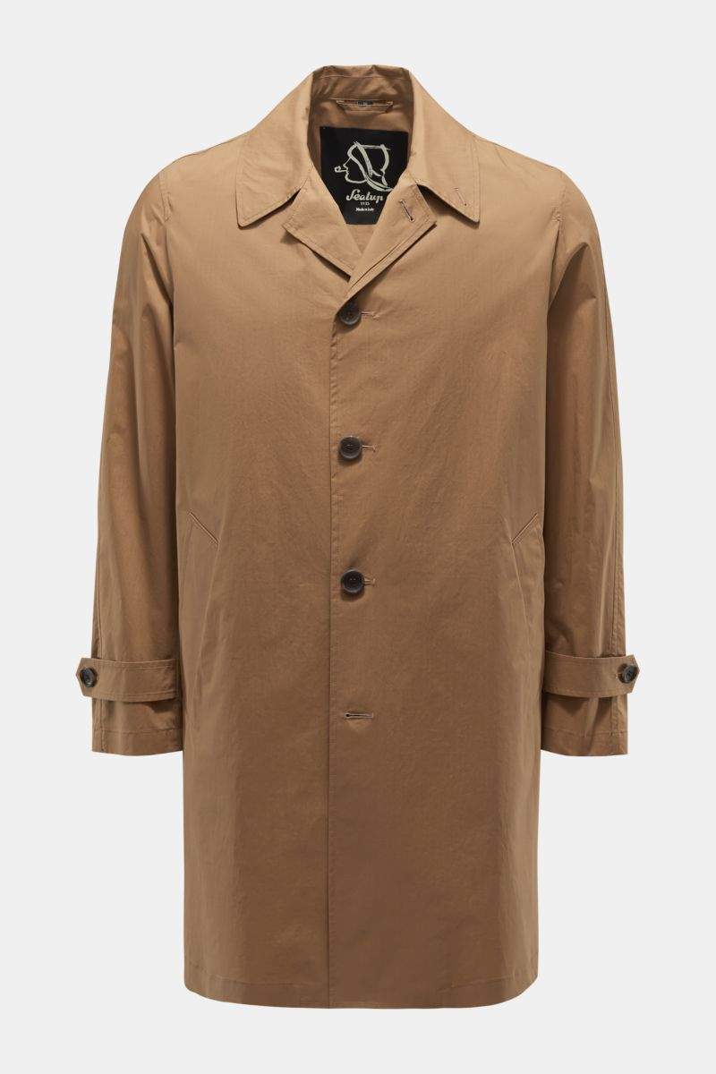 Trenchcoat 'Bretello' braun