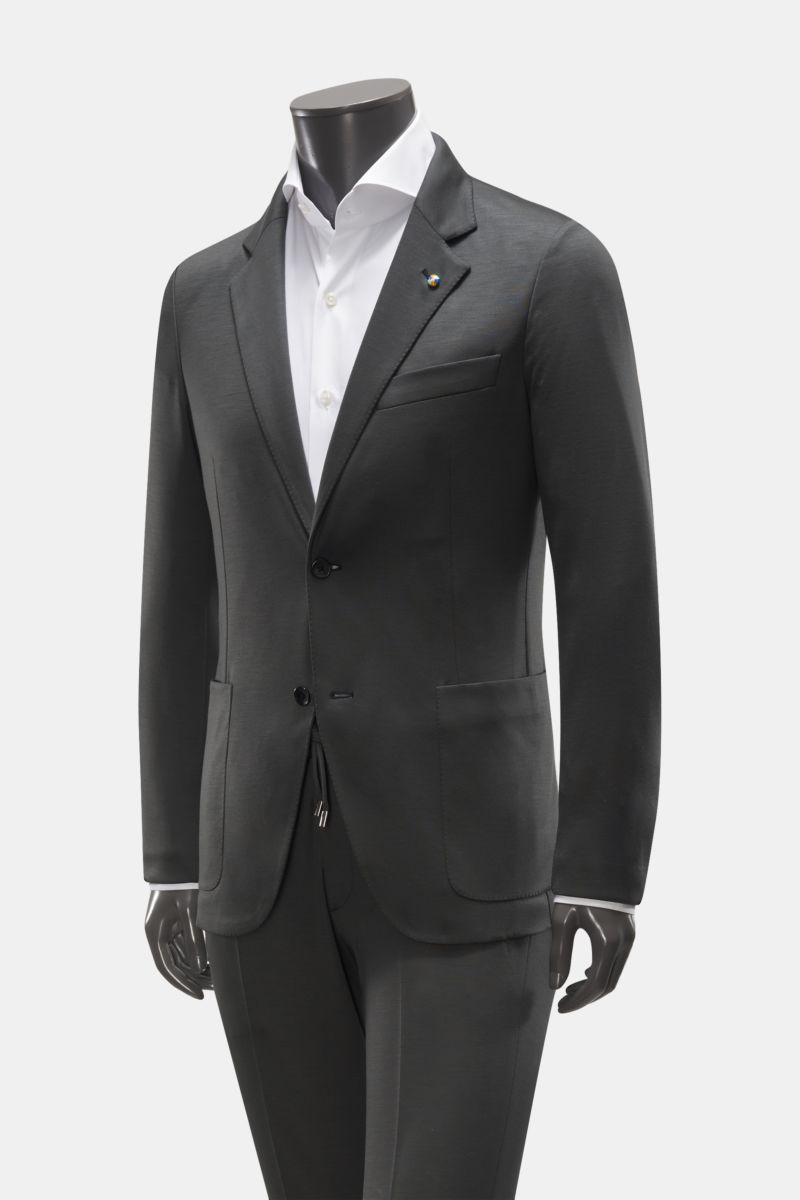 Jersey-Anzug dark olive