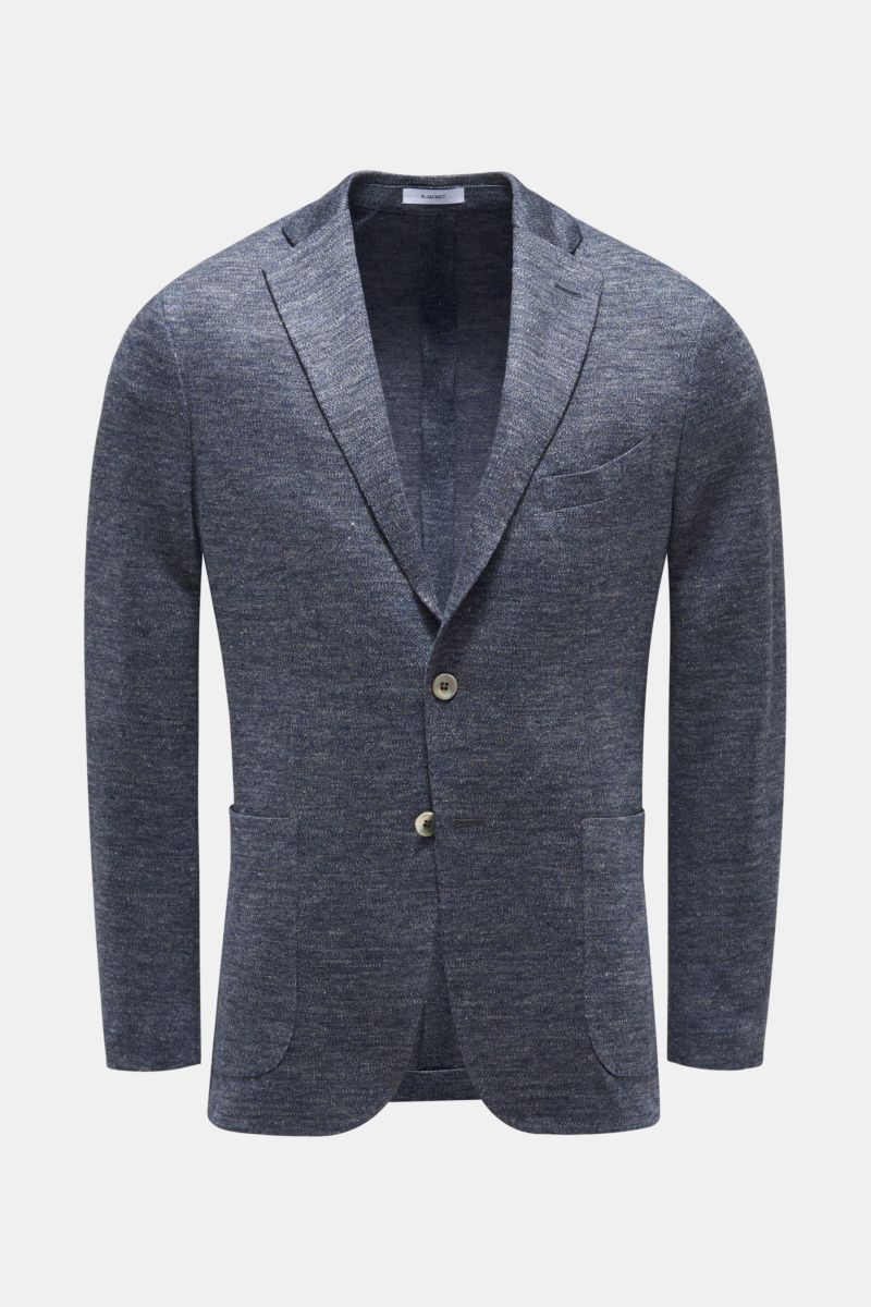 Strickblazer 'K. Jacket' graublau