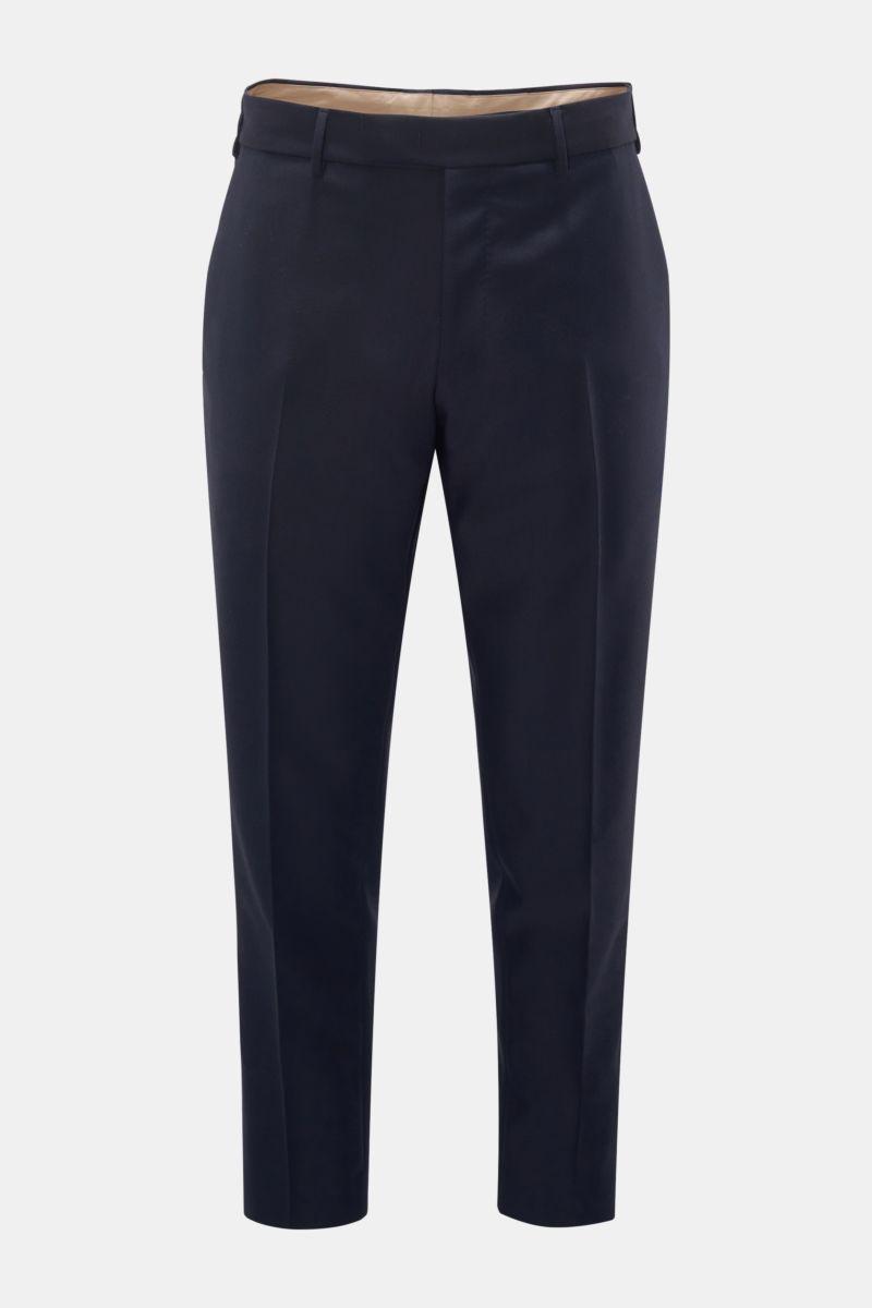 Wool trousers 'Rebel Fit' navy