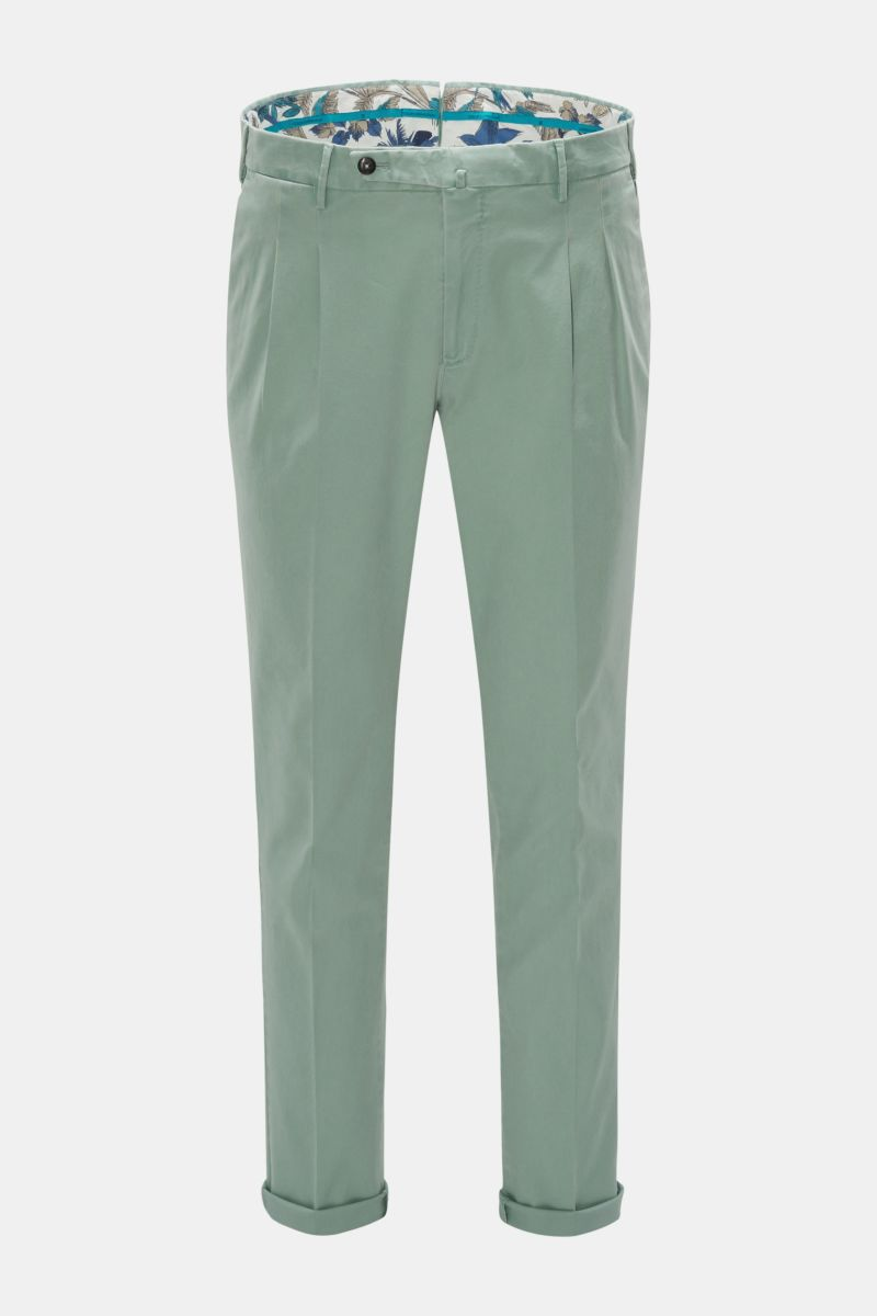Chino 'Preppy Fit' mintgrün
