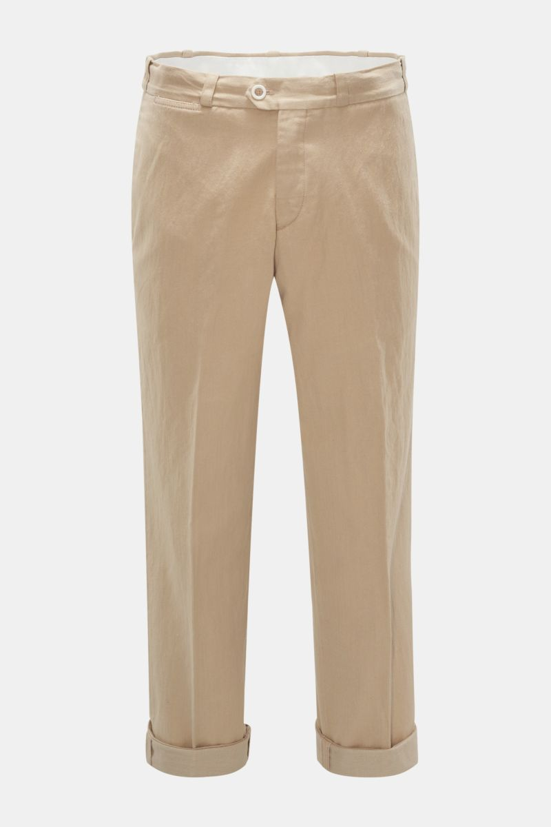 Trousers 'The Writer' light brown