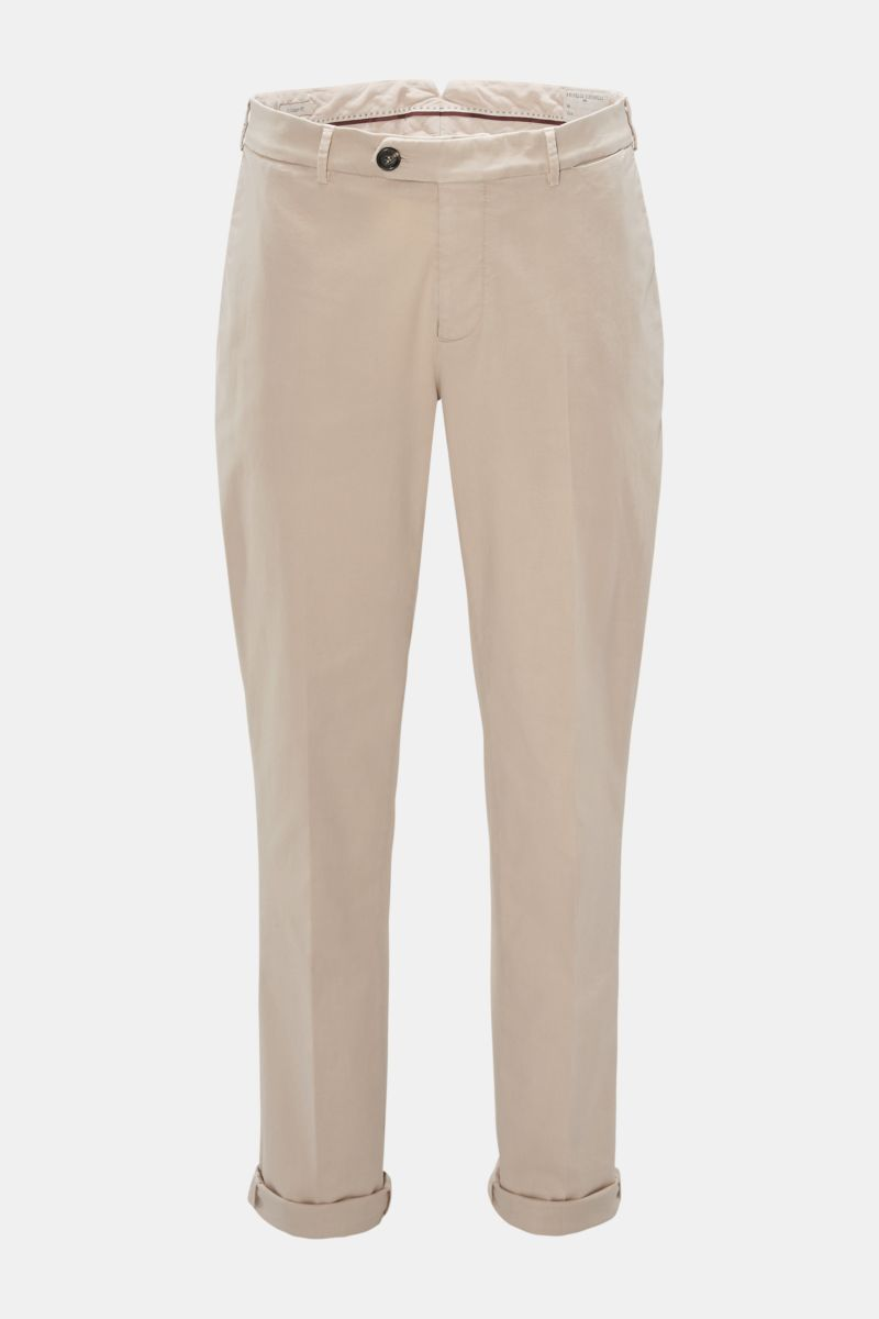 Chino 'Traditional Fit' beige