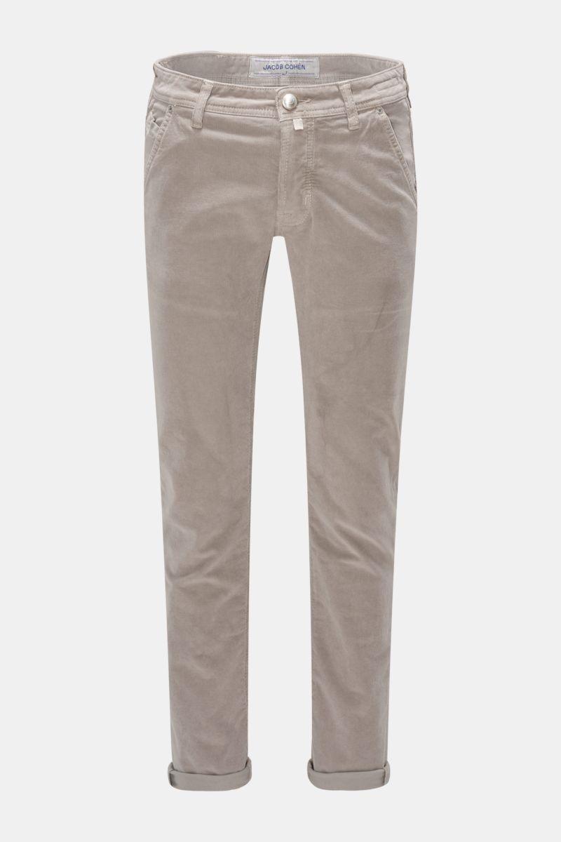 Cordhose 'J613 Comfort Slim Fit' graubraun