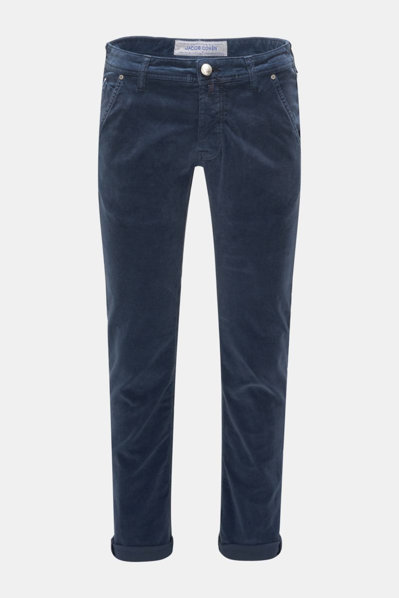 Cordhose 'J613 Comfort Slim Fit' navy