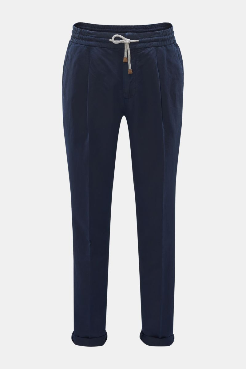 Joggpants 'Leisure Fit' navy