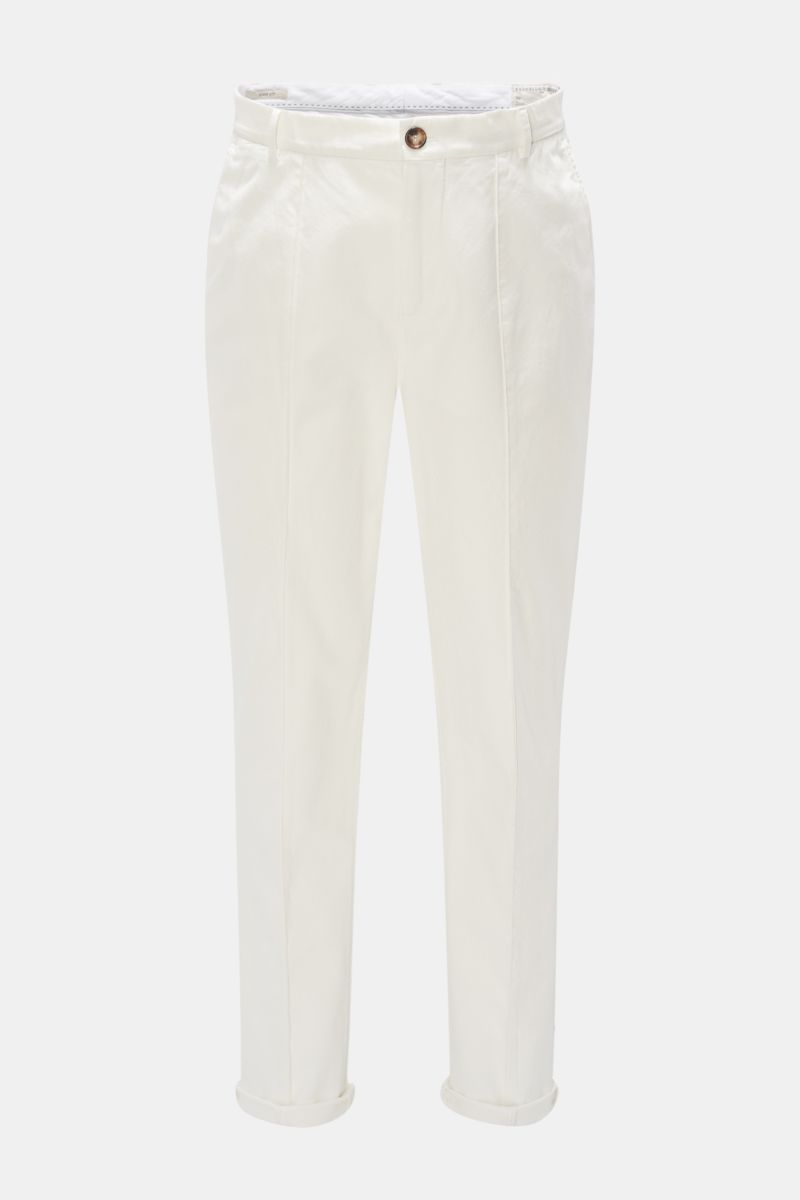 Chino 'Easy Fit' weiß