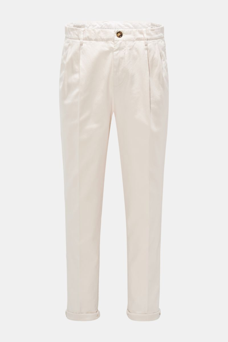 Chino 'Easy Fit' creme