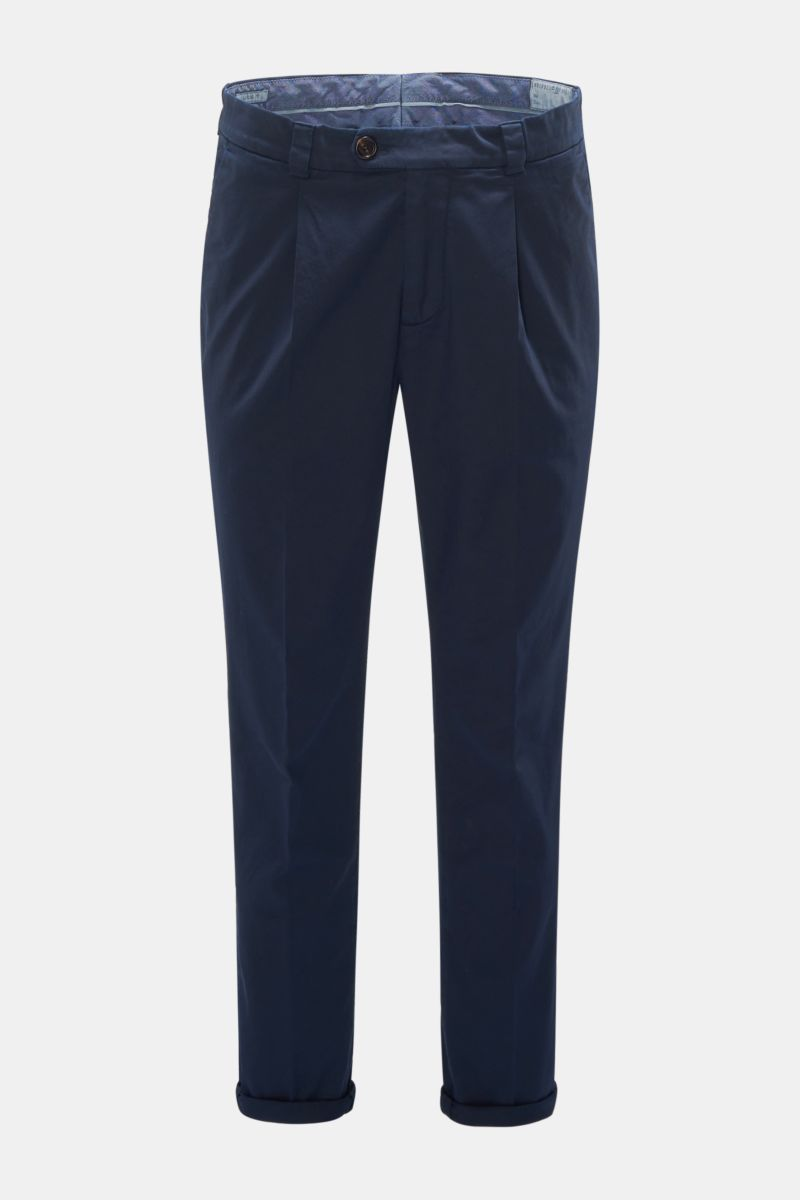 Chino 'Leisure Fit' navy
