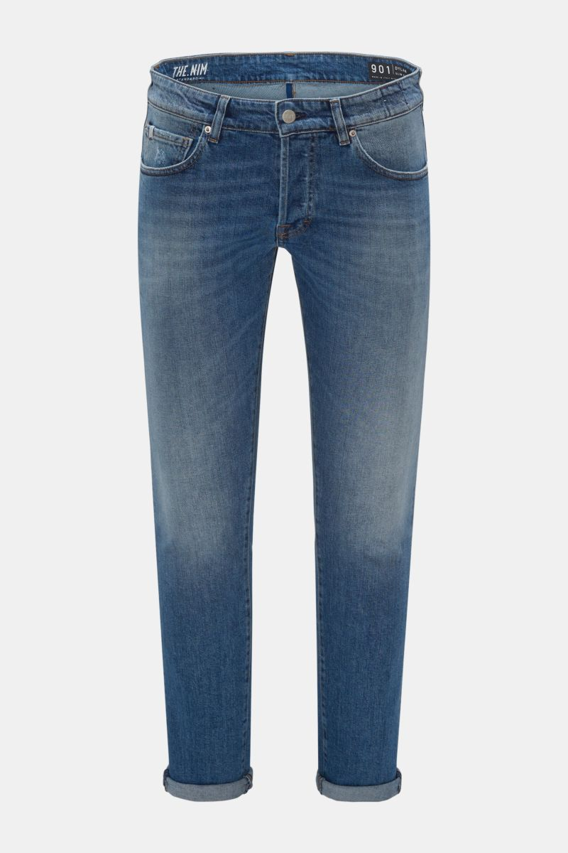 Jeans '901 Dylan Slim Fit' rauchblau